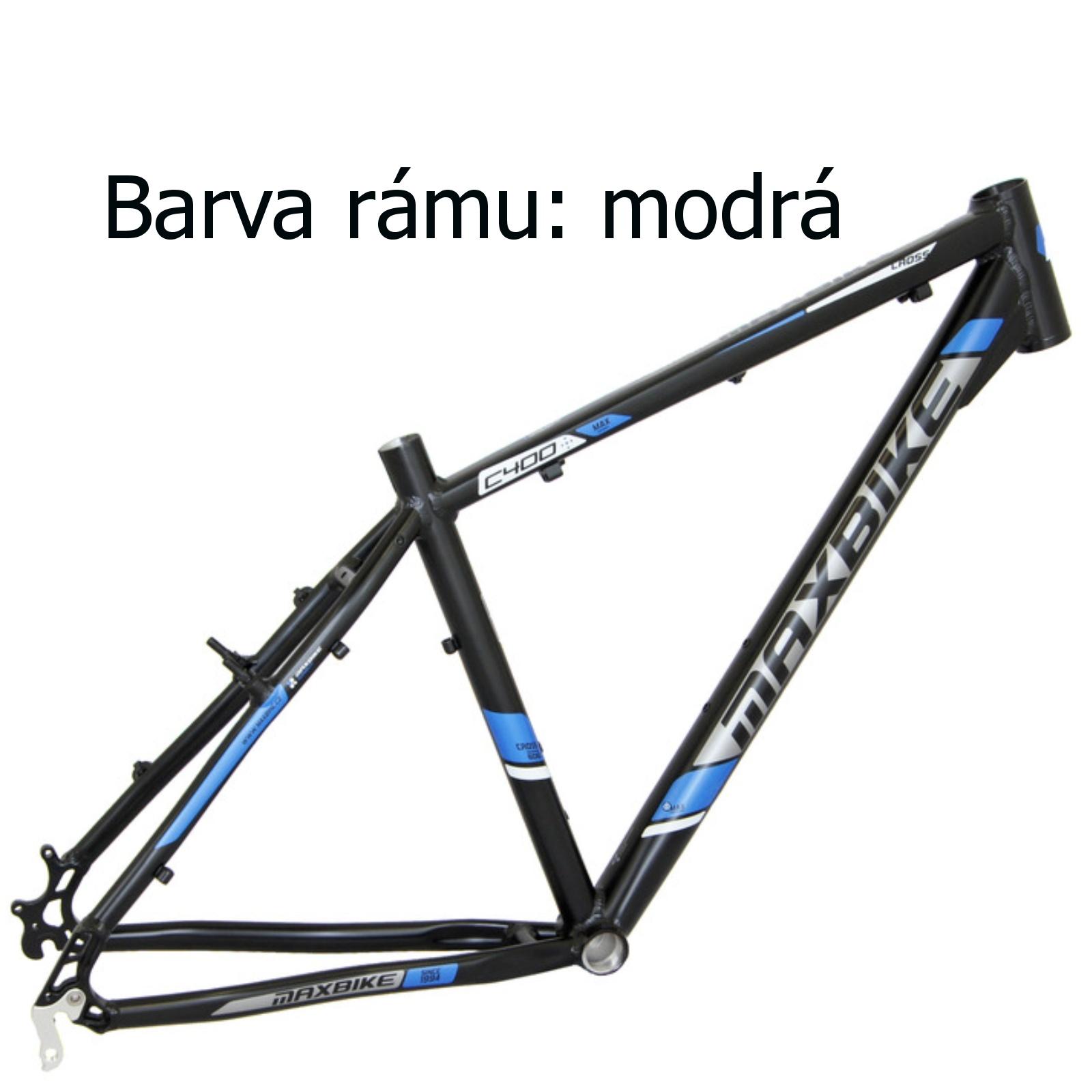 """Krosový bicykel MAXBIKE Cavalla modrý - veľ. rámu 18"""""""