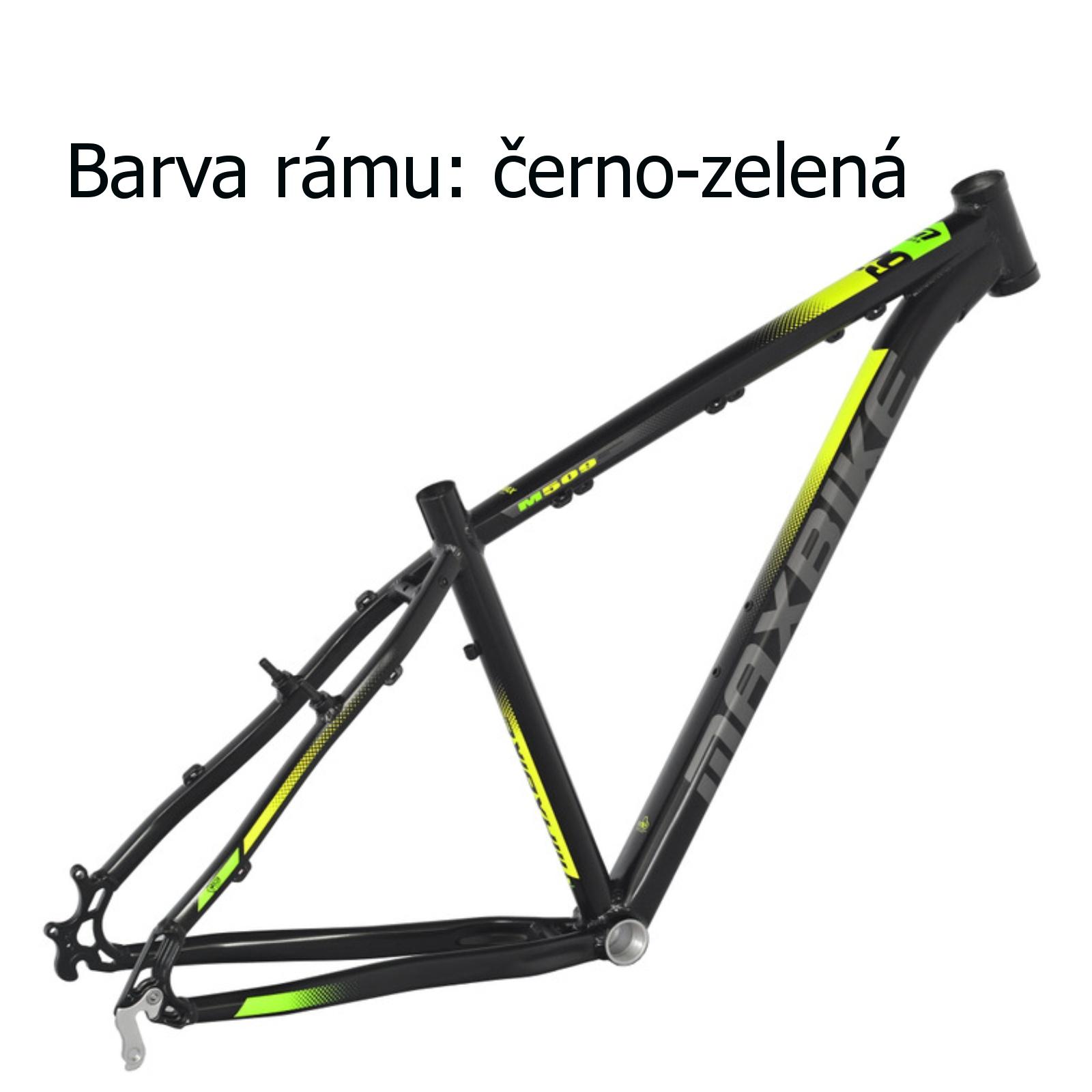 """Horský bicykel MAXBIKE Nimba 27.5 čierno-zelené - veľ. rámu 17 """""""