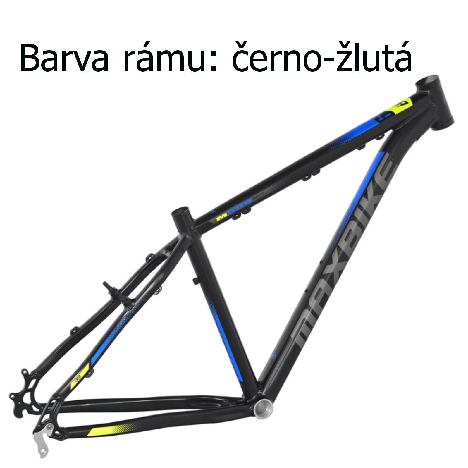 """Horský bicykel MAXBIKE Nimba 27.5 čierno-žlté - veľ. rámu 17 """""""