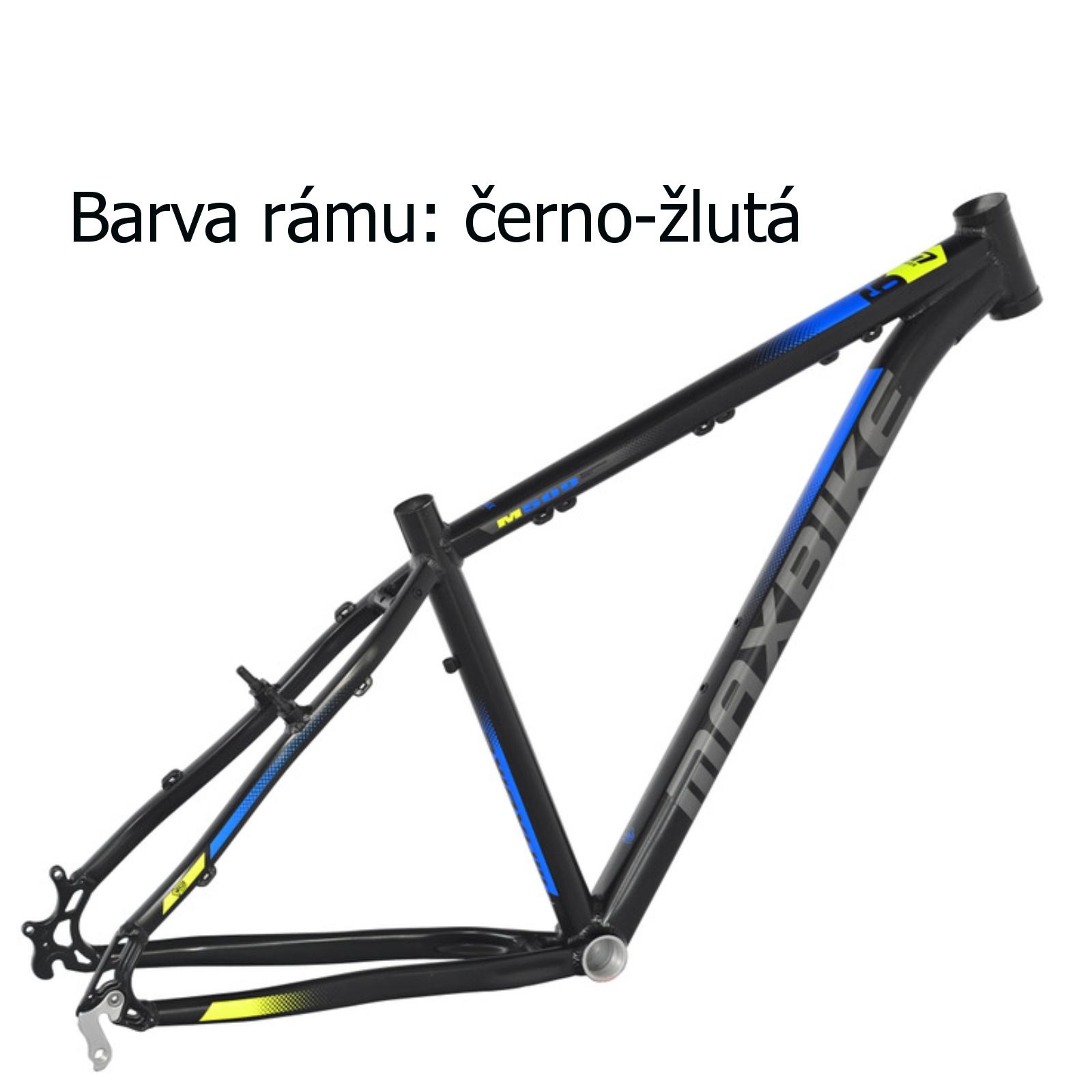 """Horský bicykel MAXBIKE Apo 26 čierno-žltý - veľ. rámu 17"""""""