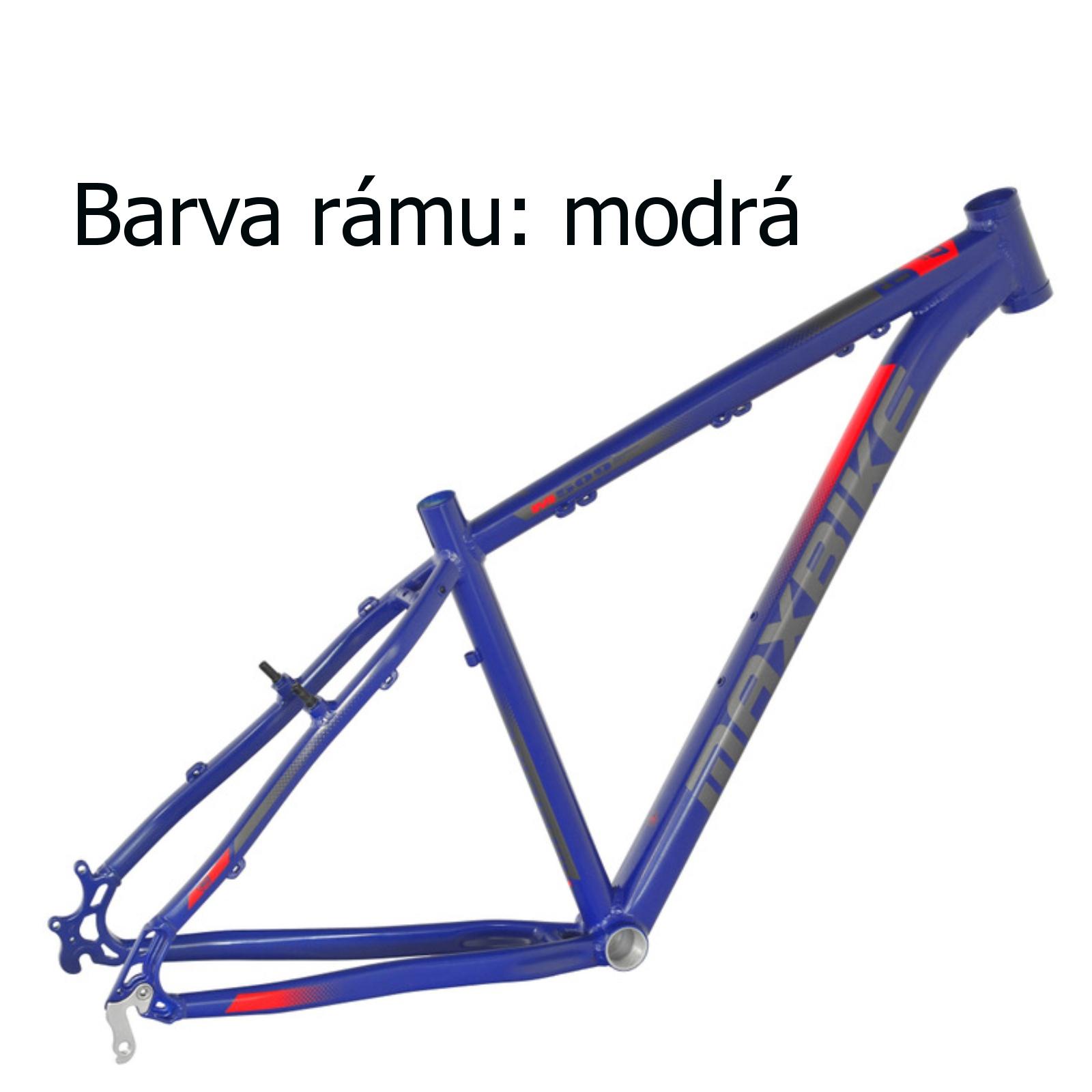 """Horský bicykel MAXBIKE Apo 26 modrý - veľ. rámu 17"""""""