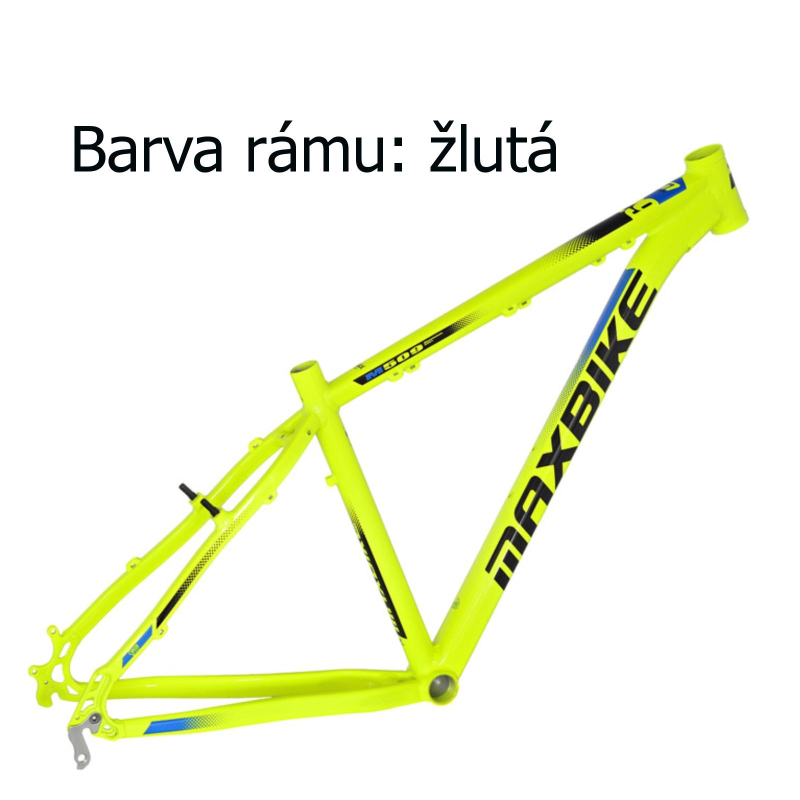 """Horský bicykel MAXBIKE Apo 26 žltý - veľ. rámu 17"""""""