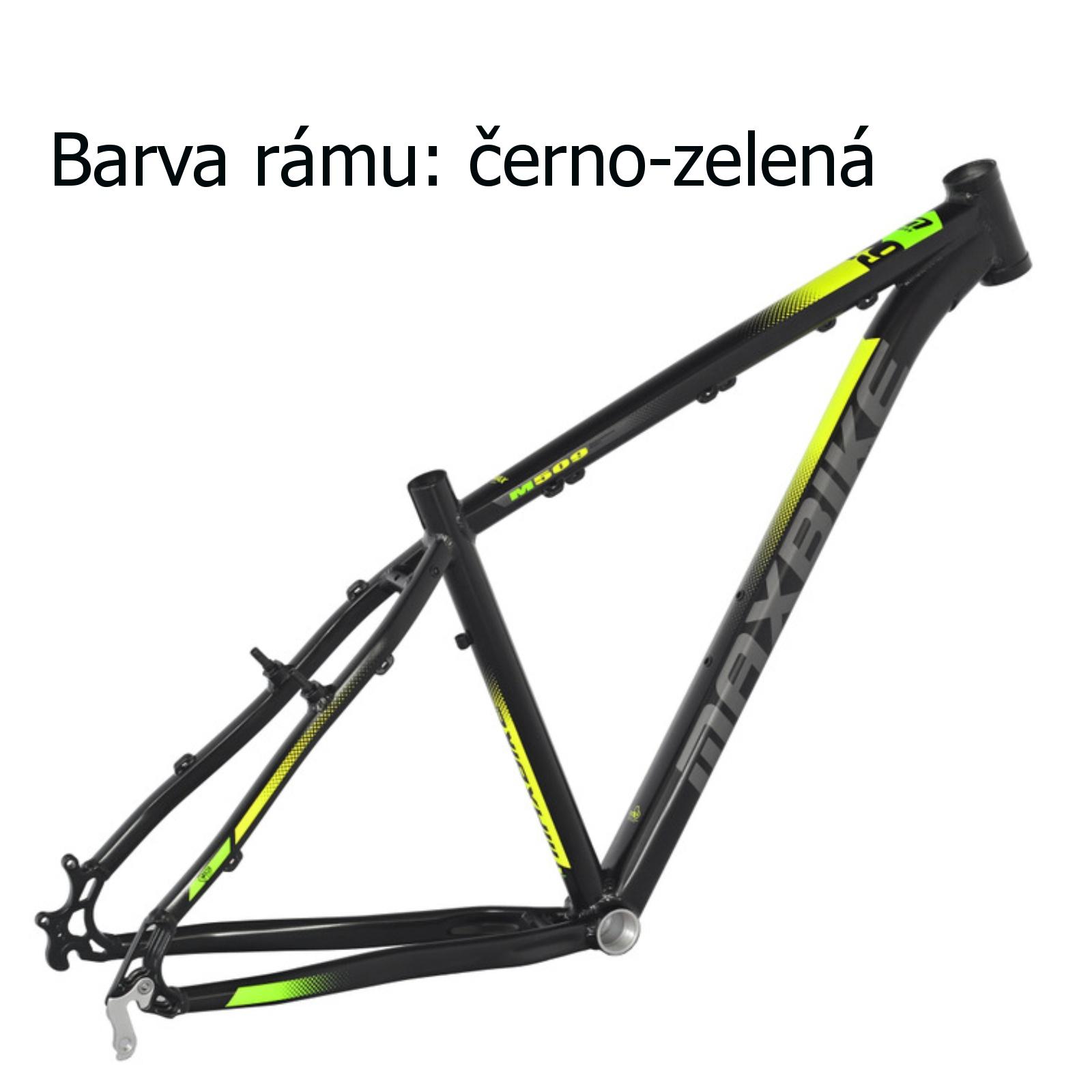 """Horský bicykel MAXBIKE Apo 29 matne čierny - veľ. rámu 15"""""""