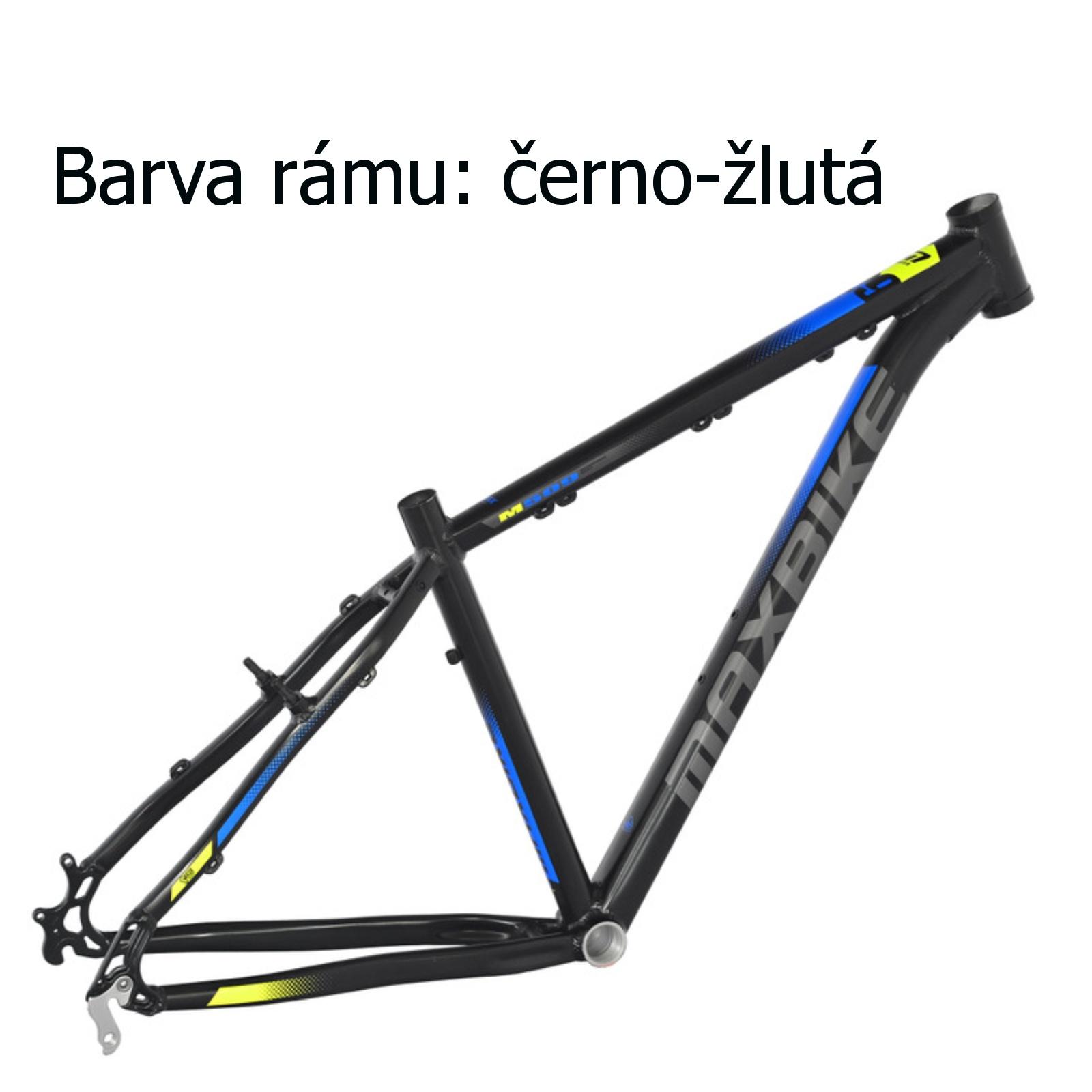 """Horský bicykel MAXBIKE Apo 29 žltý - veľ. rámu 17"""""""