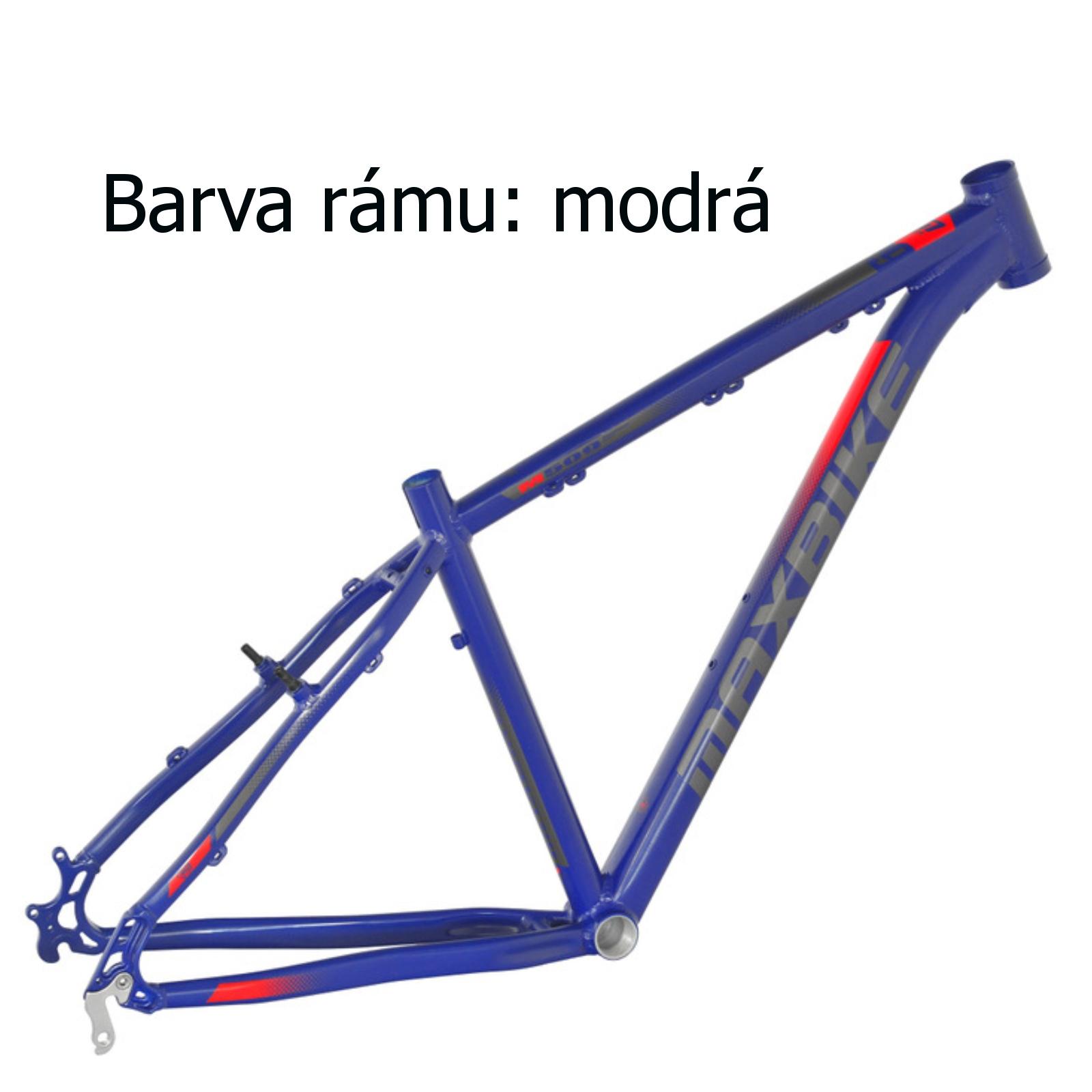 """Horský bicykel MAXBIKE Apo 29 biely - veľ. rámu 17"""""""