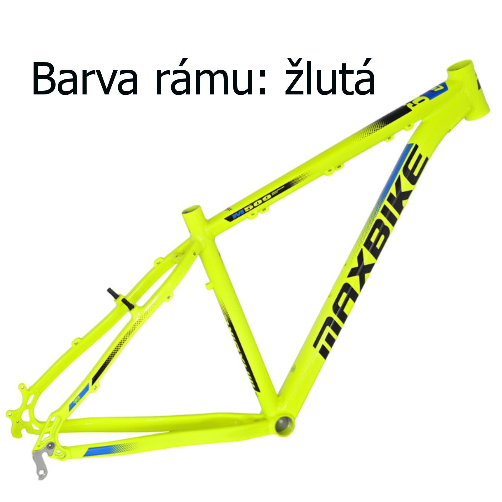 """Horský bicykel MAXBIKE Apo 29 žltý - veľ. rámu 19 """""""