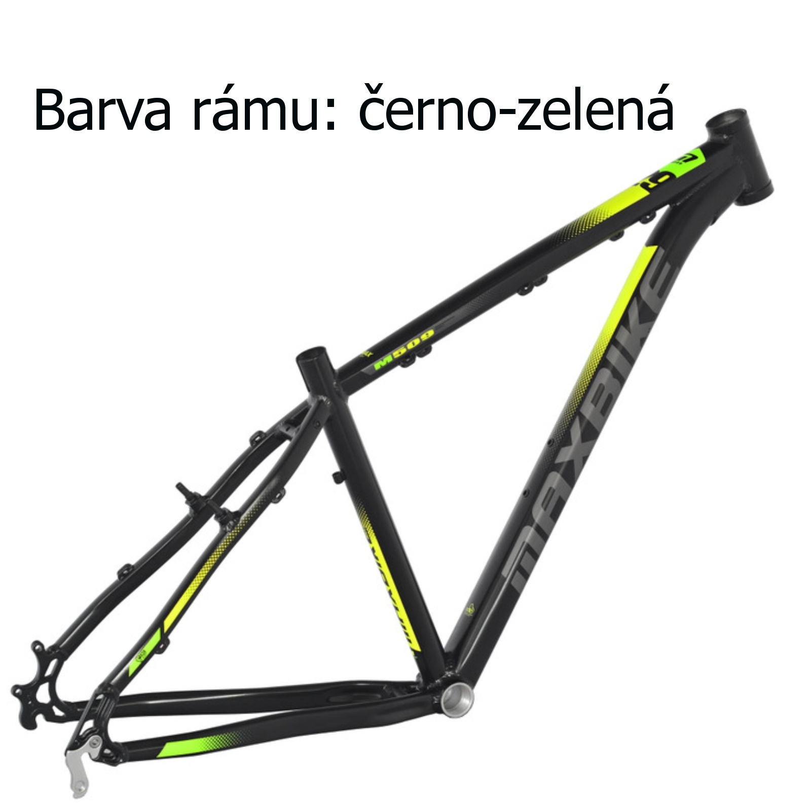 "Horský bicykel MAXBIKE Taupo 29 čierno-zelený veľ. rámu 19 """