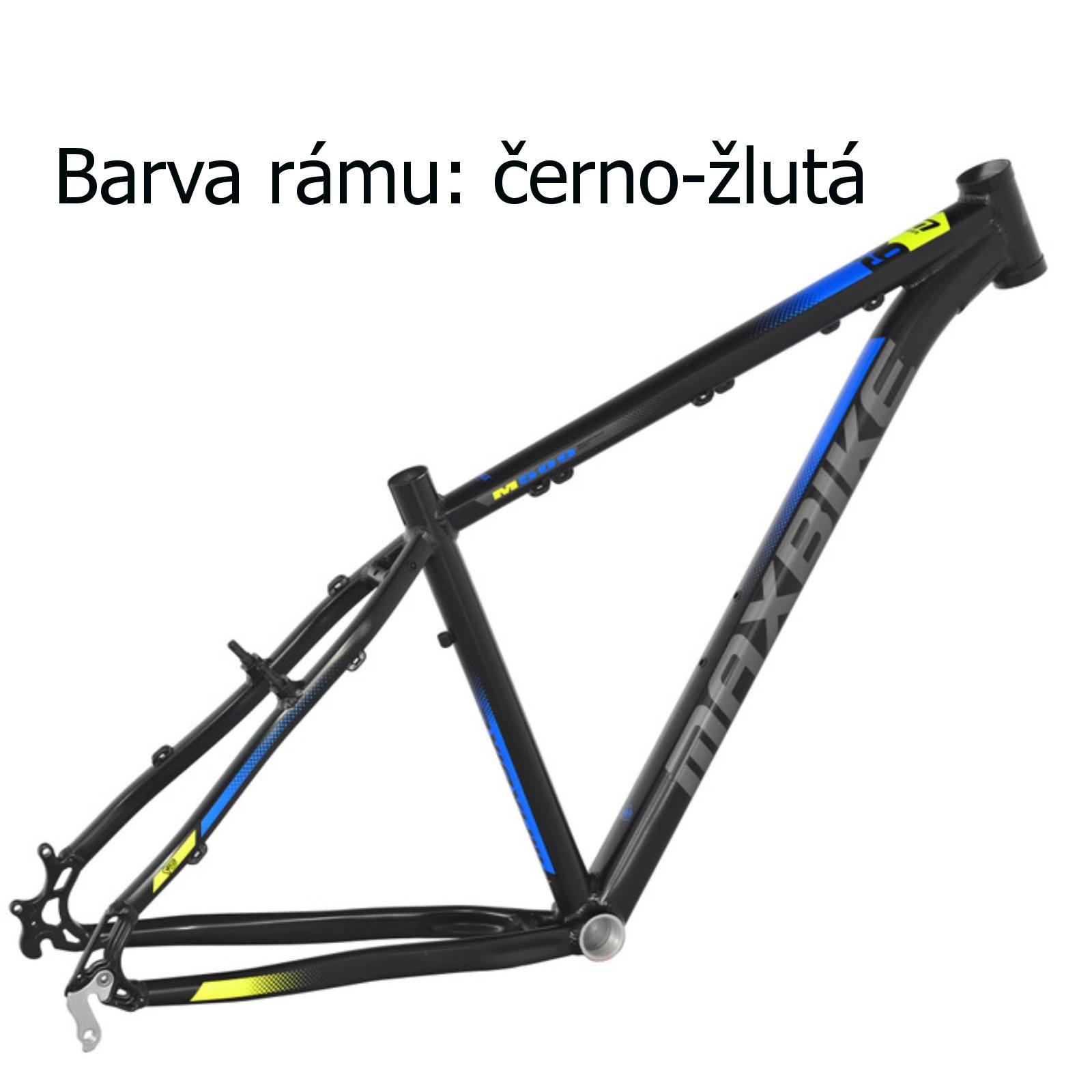 """Horský bicykel MAXBIKE Taupo 29 čierno-žltý veľ. rámu 15 """""""