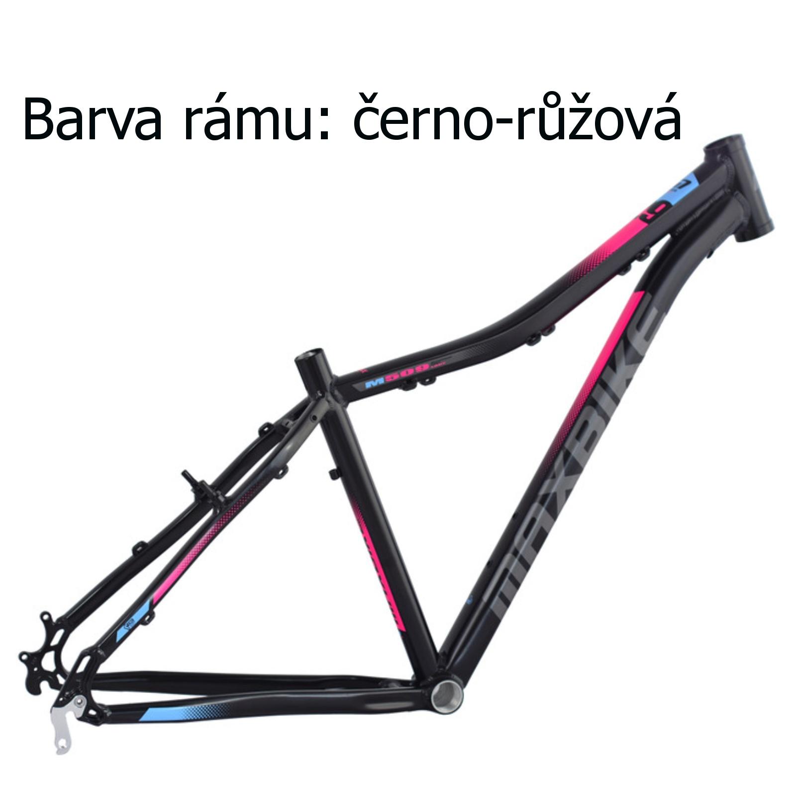 """Horský bicykel MAXBIKE Apo 26 dámsky čierno-ružový - veľ. rámu 17 """""""