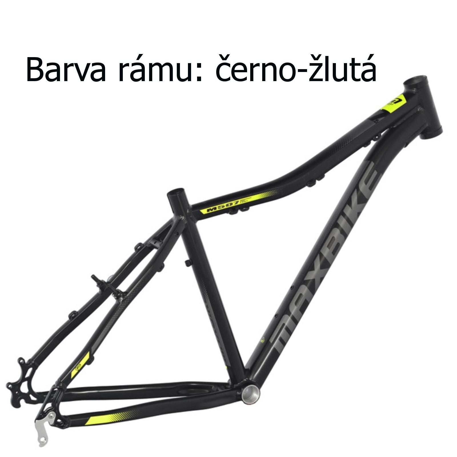 """Horský bicykel MAXBIKE Apo 26 dámsky čierno-žltý - veľ. rámu 15 """""""