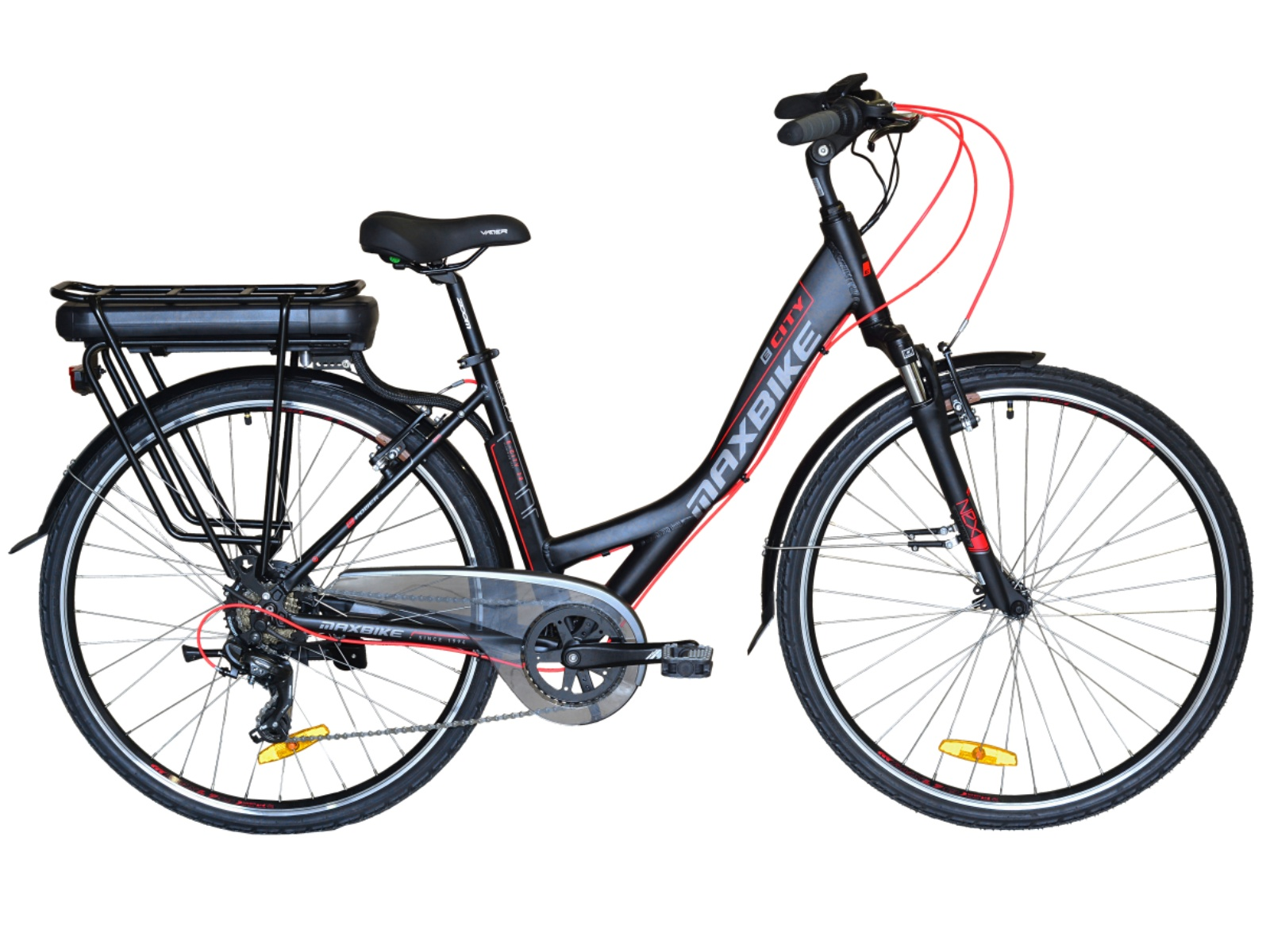 Mestský elektrobicykel MAXBIKE E-City 700C