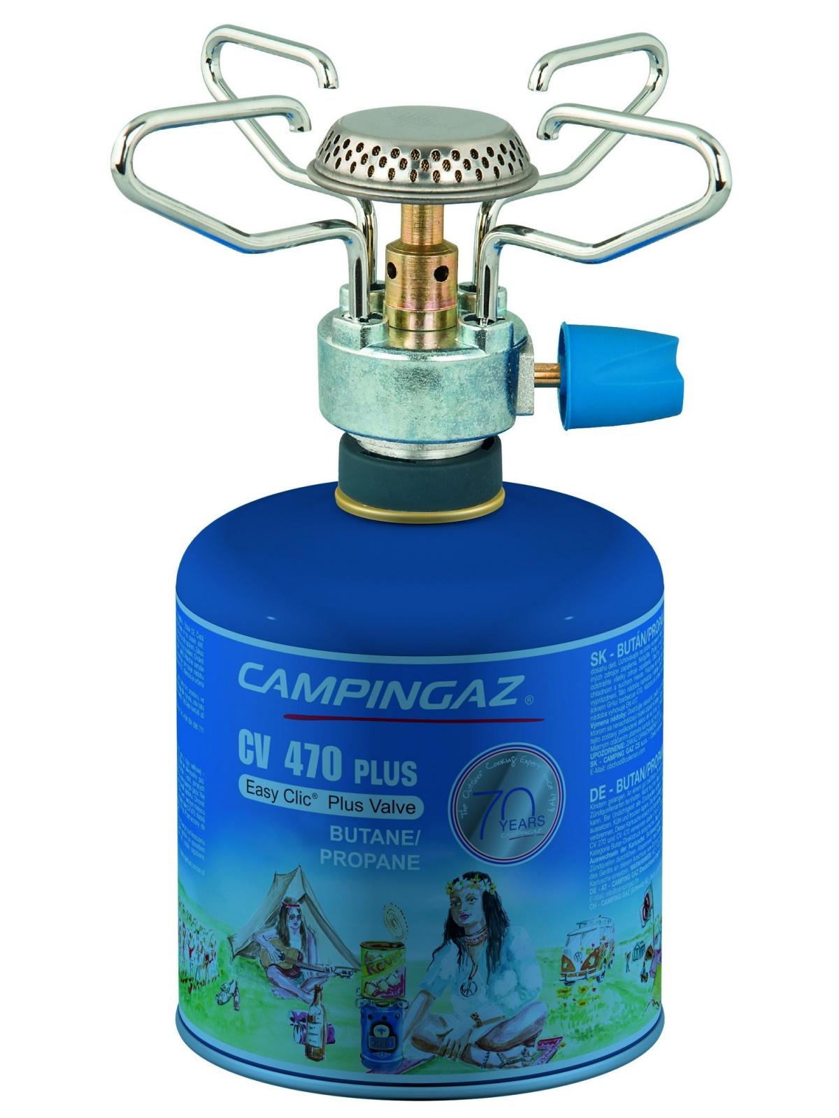 Plynový varič CAMPINGAZ Bleuet Micro Plus s kartušou CV 470 plus