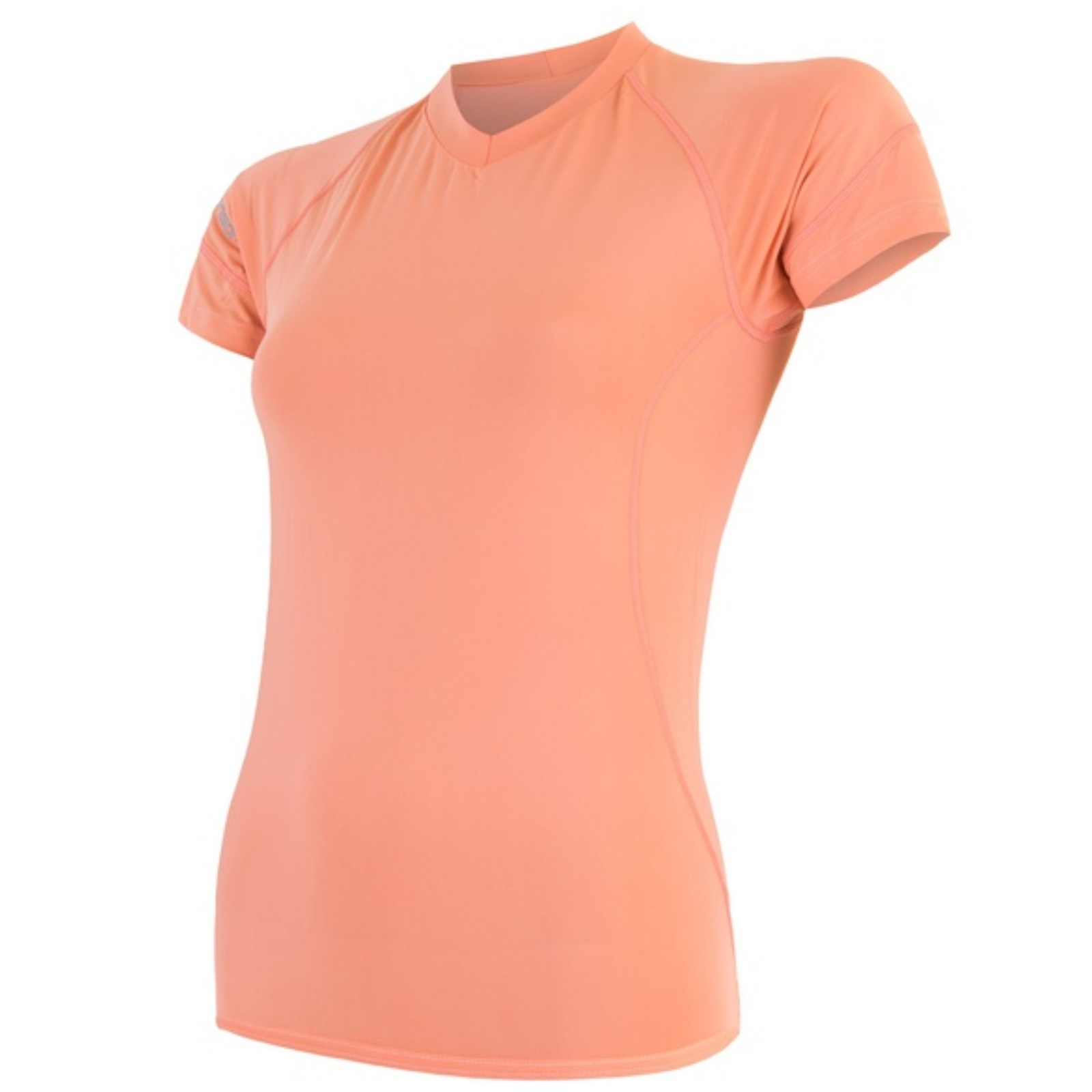 Tričko krátky rukáv SENSOR Coolmax Fresh dámske apricot