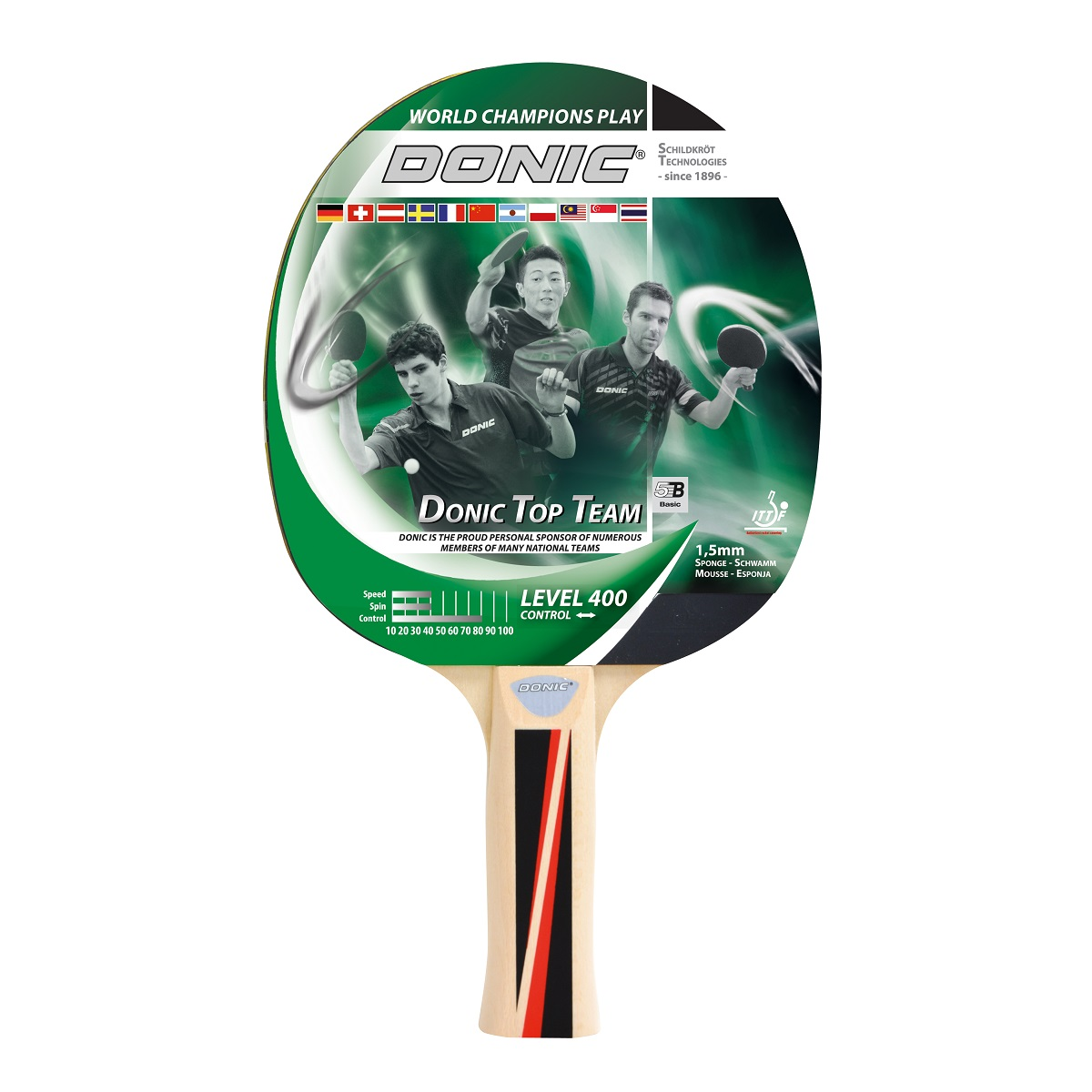 Raketa na stolný tenis DONIC Top Team 400