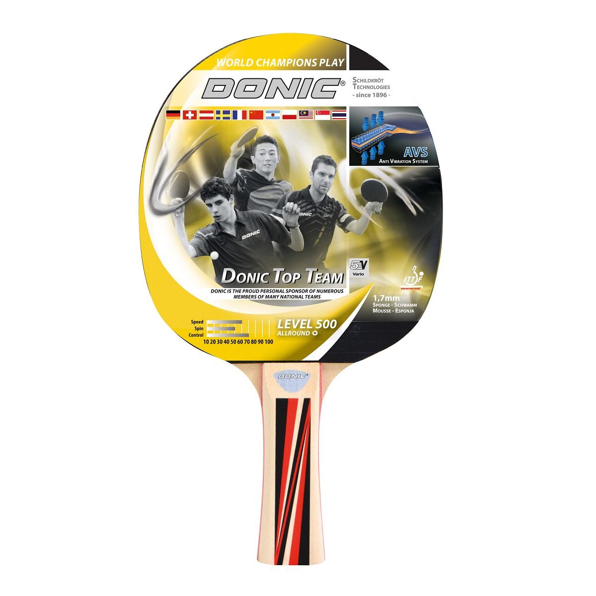 Raketa na stolný tenis DONIC Top Team 500