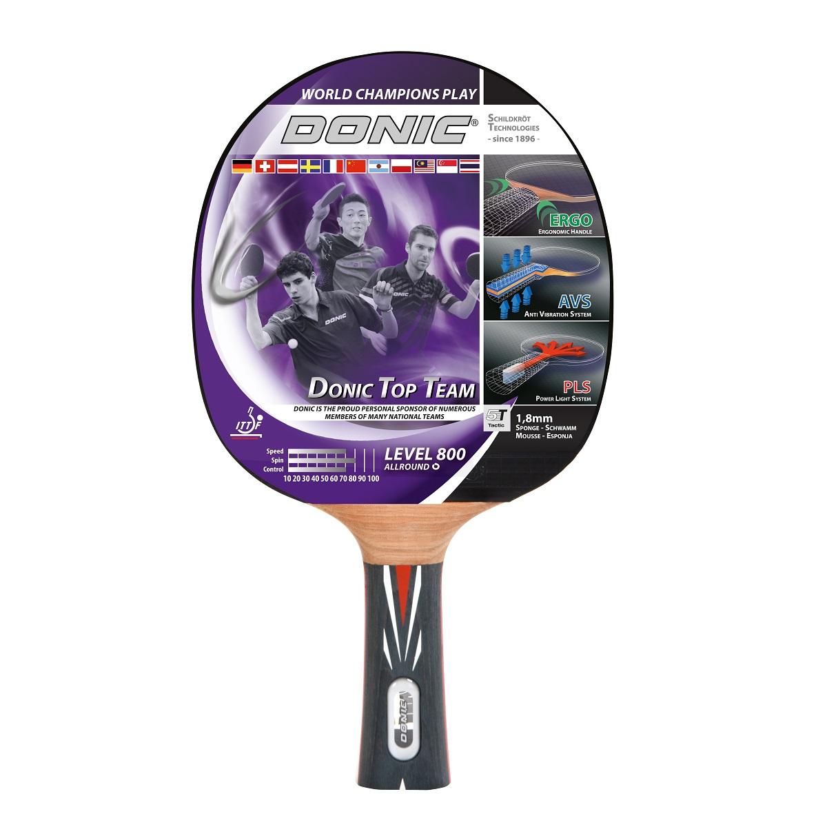 Raketa na stolný tenis DONIC Top Team 800