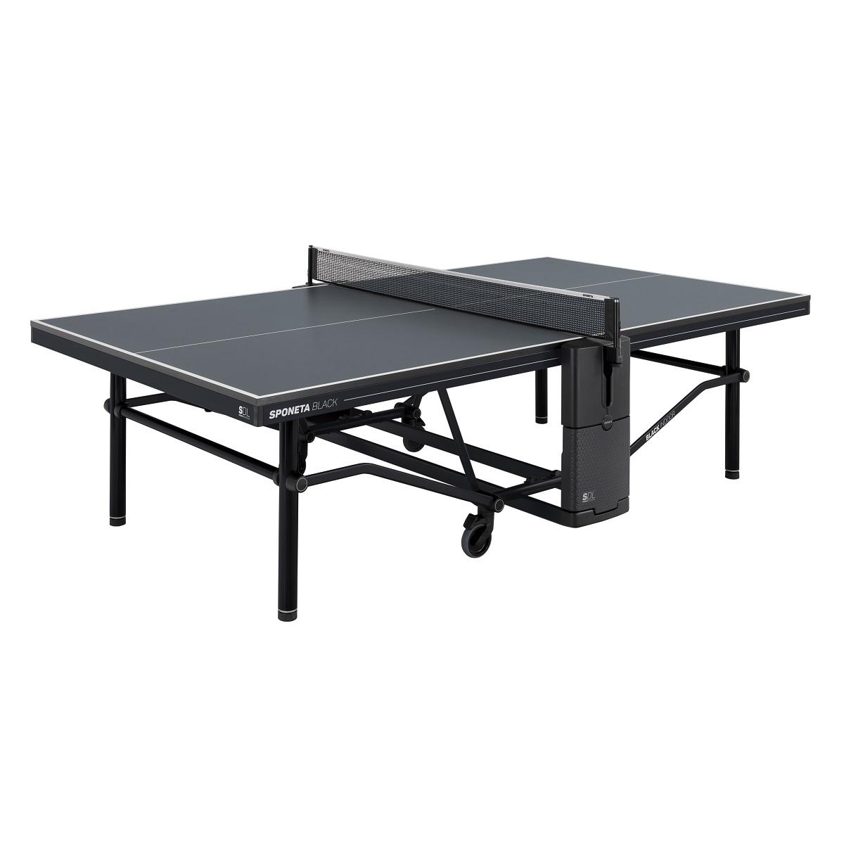 Stôl na stolný tenis SPONETA Design Line - Black Outdoor - vonkajší
