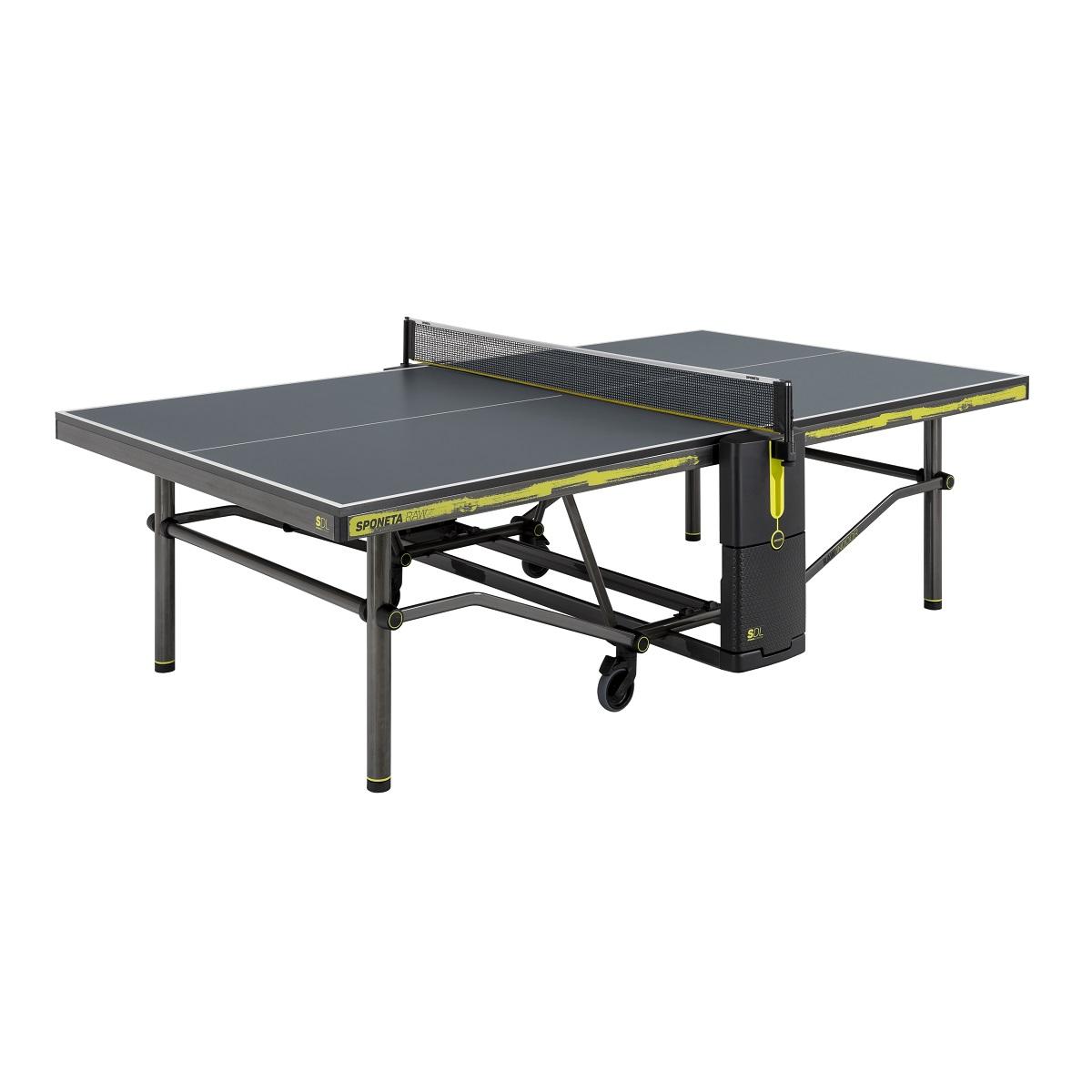 Stôl na stolný tenis SPONETA Design Line - Raw Indoor - vnútorný
