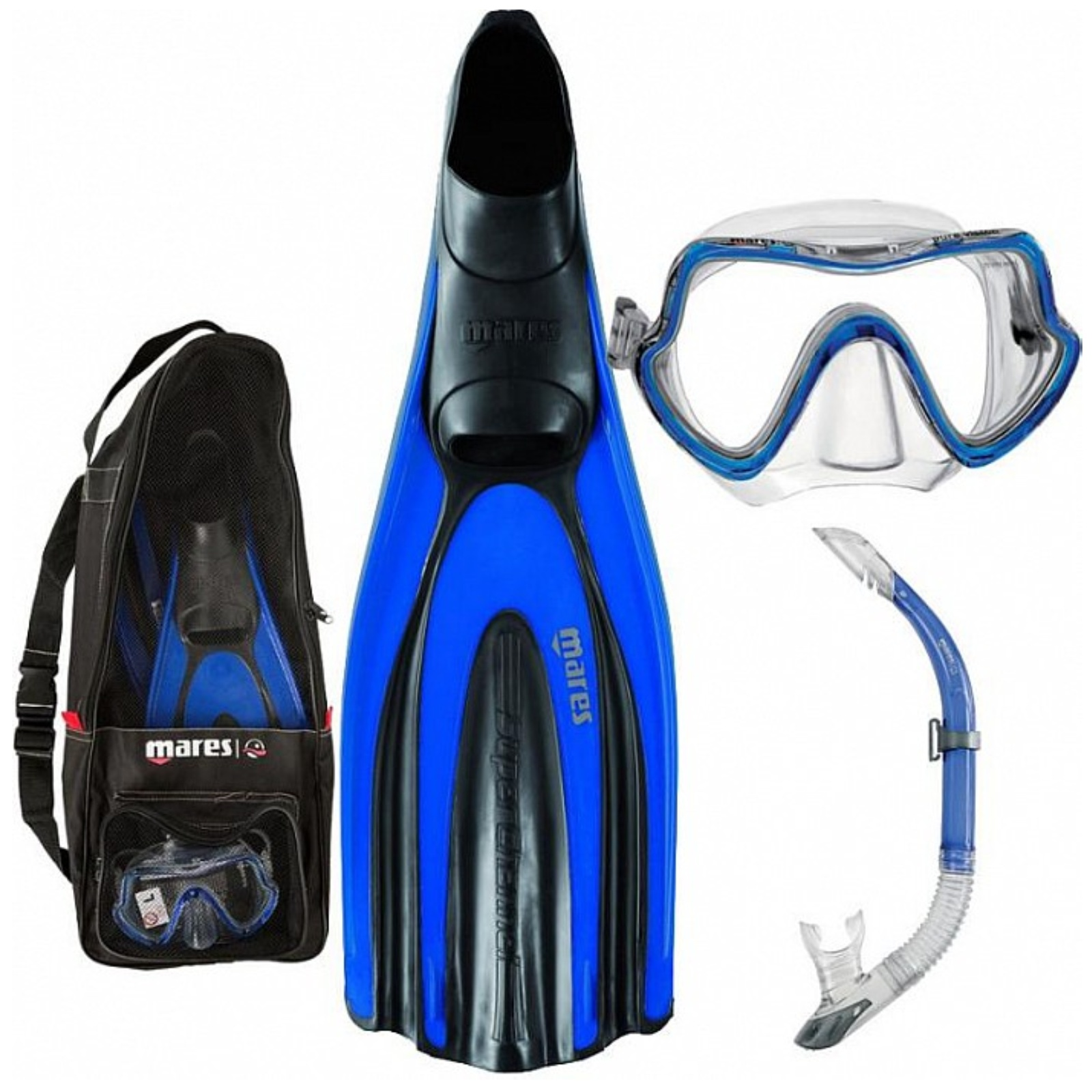 Potápačský set MARES Set Superchannel D s taškou veľ. 38-39