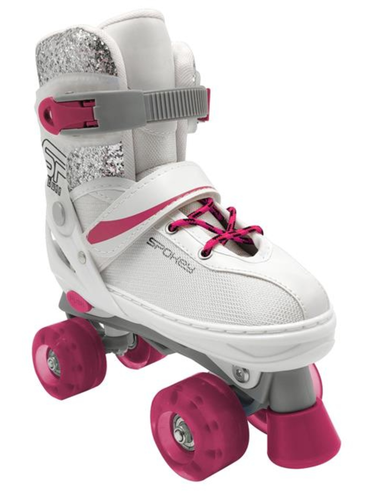 Trekové korčule SPOKEY Buff bielo-ružové veľ. 35-38