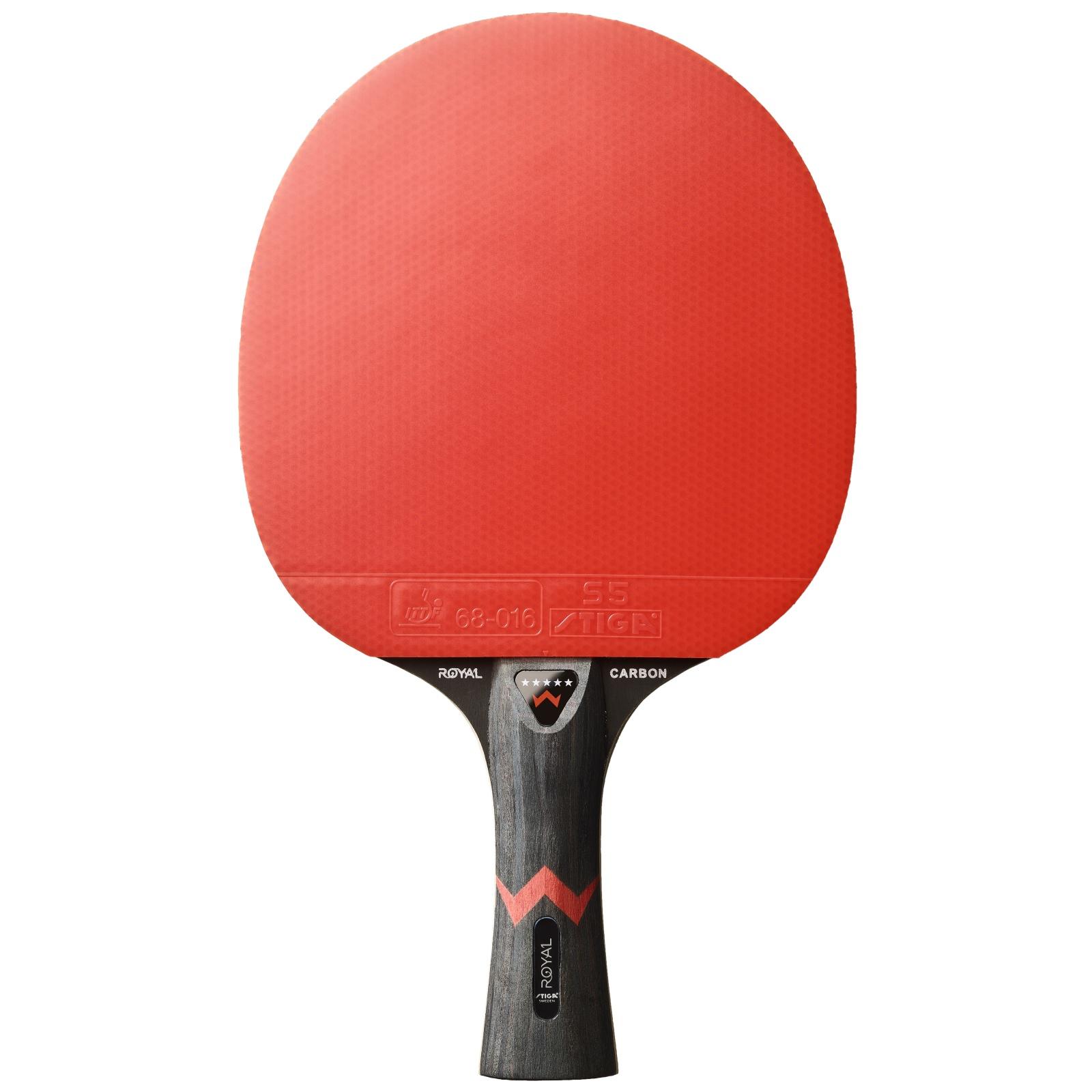 Raketa na stolný tenis STIGA Royal Carbon*****