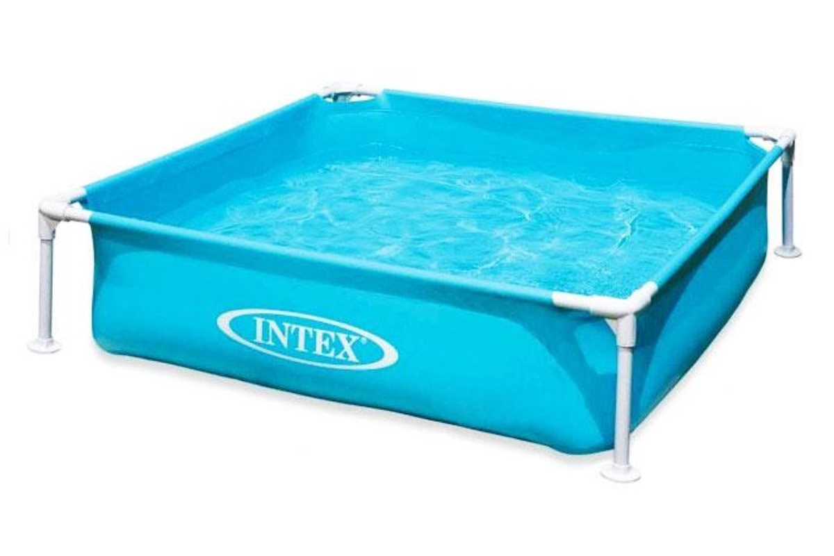 INTEX 57173 Frame Mini modrý 122x122x30 cm