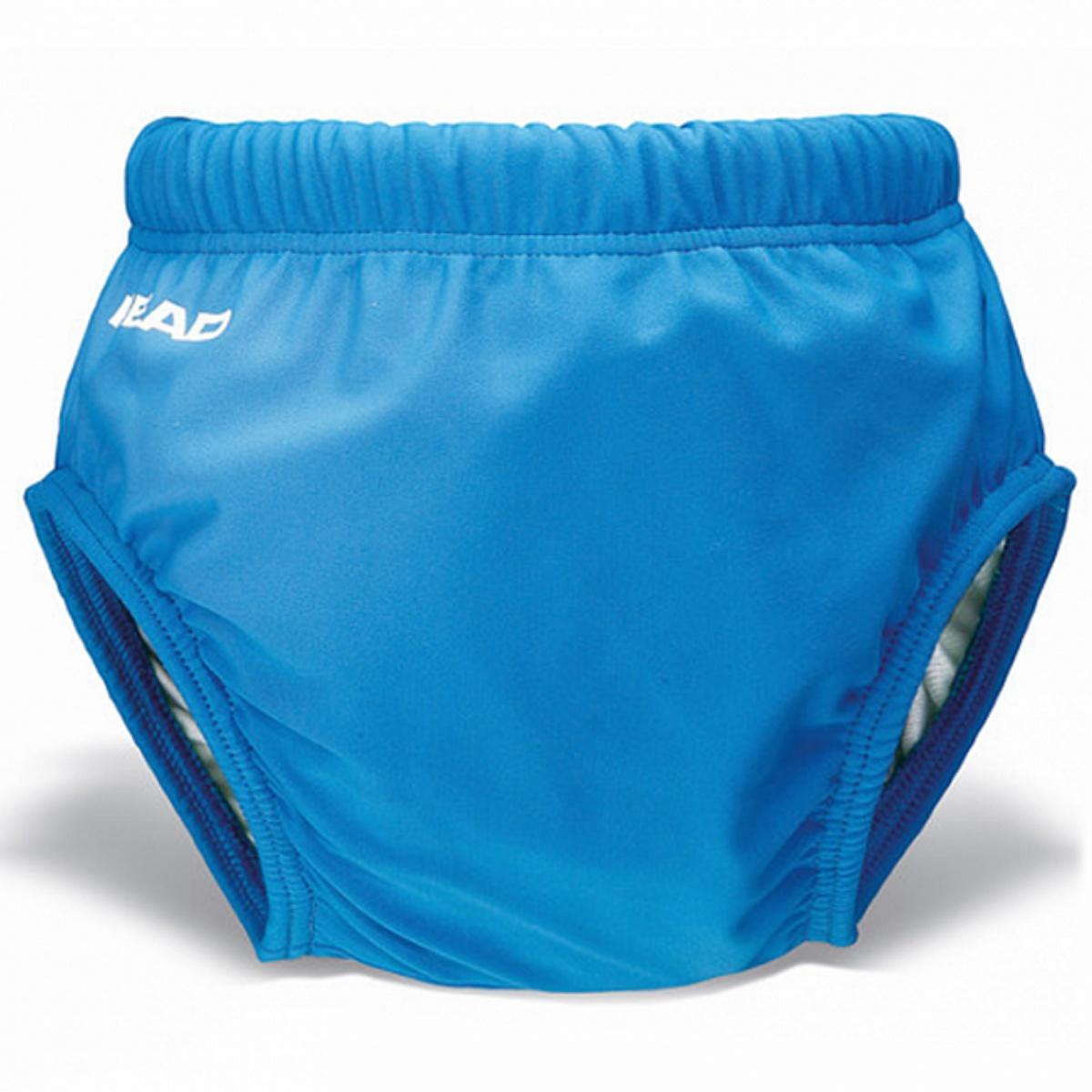 Detské plavky Head AQUA NAPPY modré