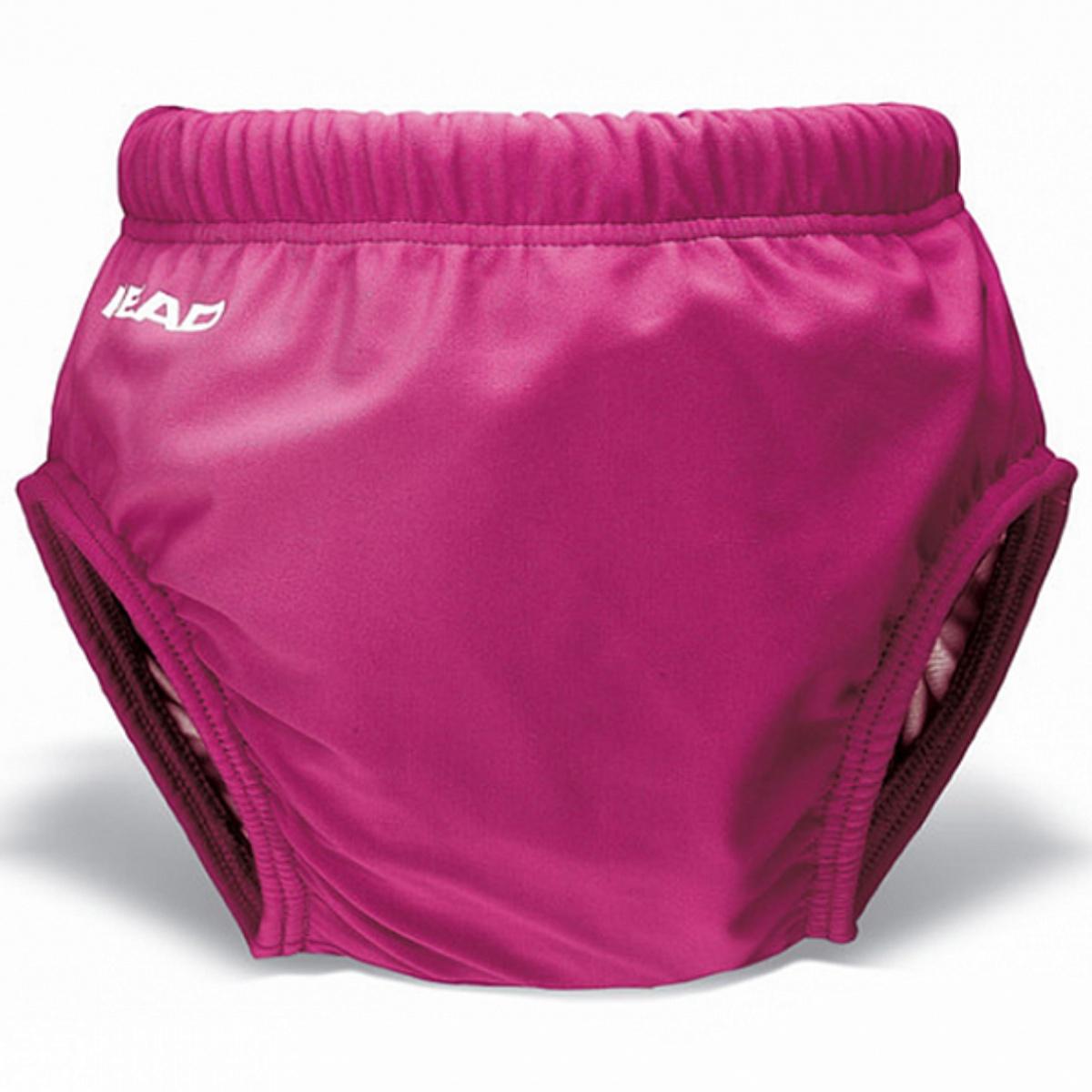 Detské plavky Head AQUA NAPPY růžové