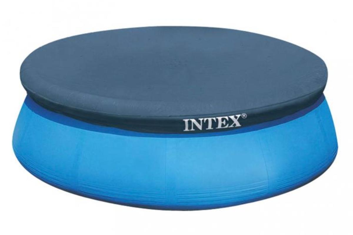 INTEX 28022 Krycia plachta na bazén Easy 3,66 m čierna