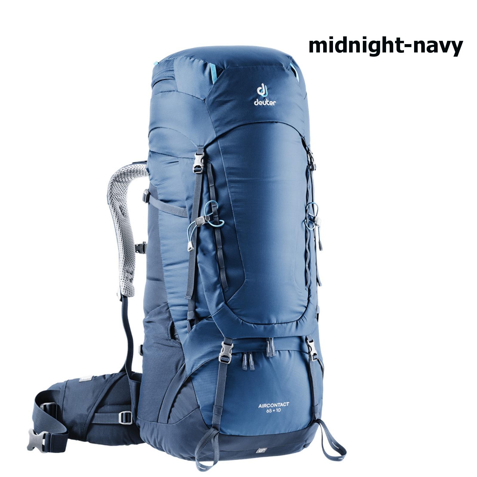 Deuter Aircontact 65 + 10 Midnight navy