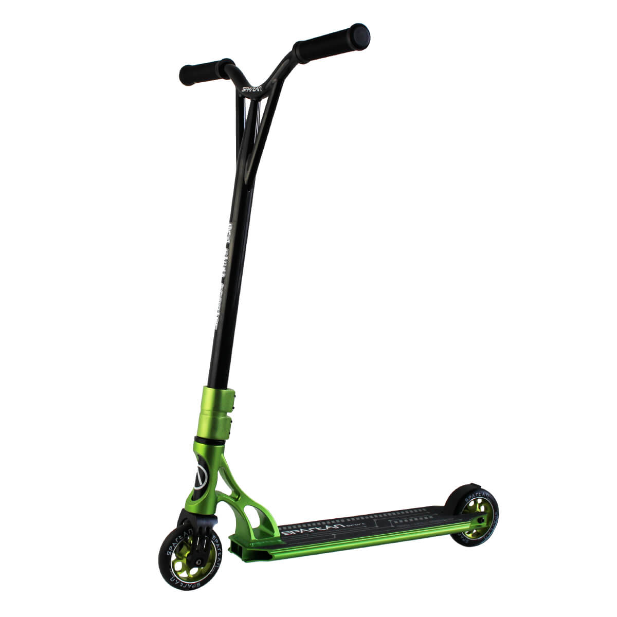 SPARTAN Stunt Pro High Level S2300 zeleno-čierna