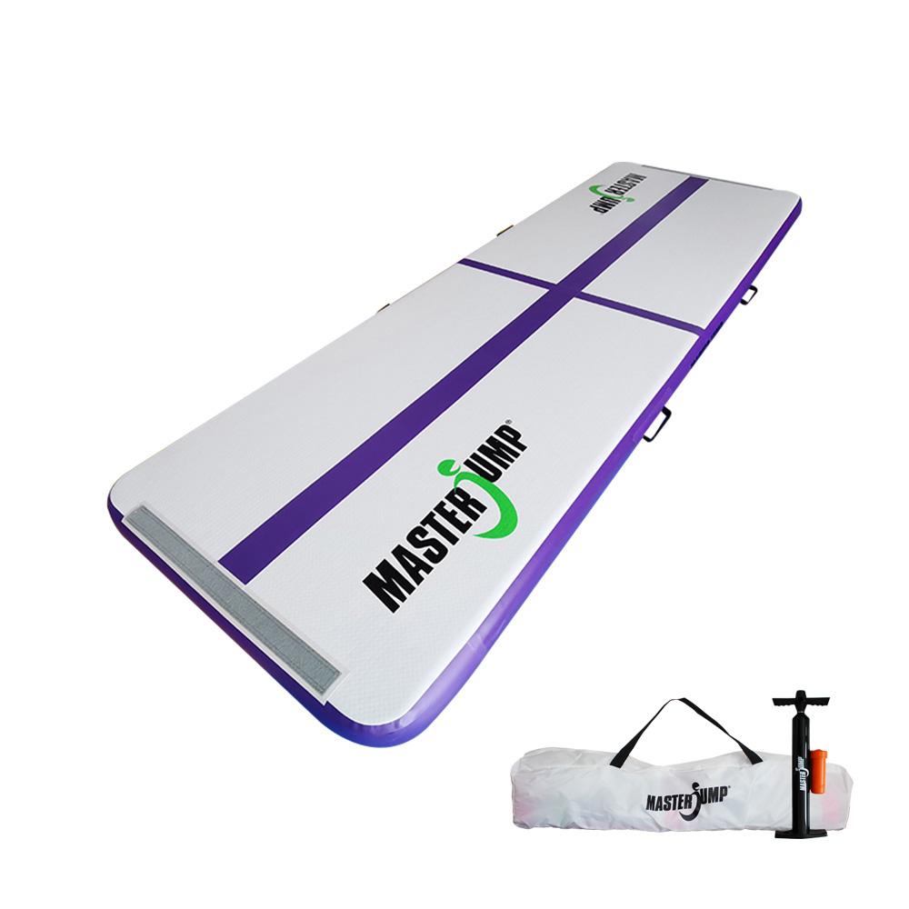 Airtrack MASTERJUMP nafukovacia žinenka 300 x 100 x 10 cm - fialová