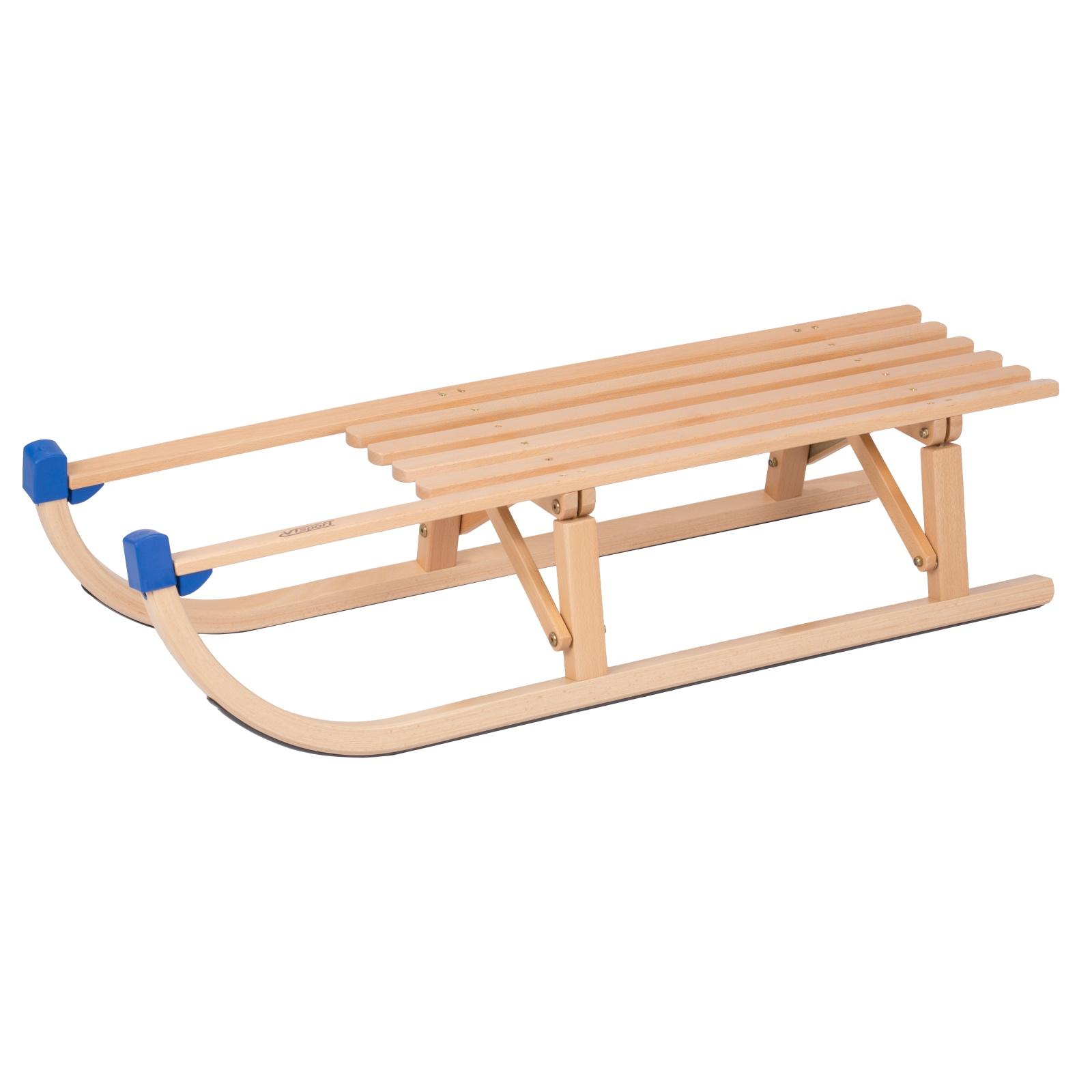 Sane drevené VT-SPORT Davos diaľka 100 cm - skladacie
