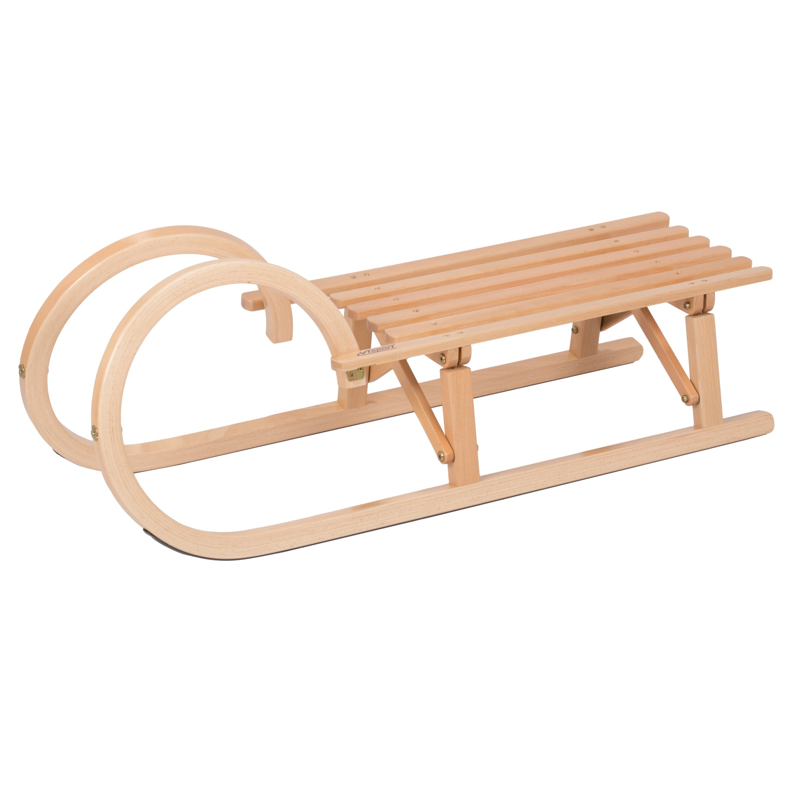 Sane drevené VT-SPORT Rohačky dľžka 100 cm - skladacie