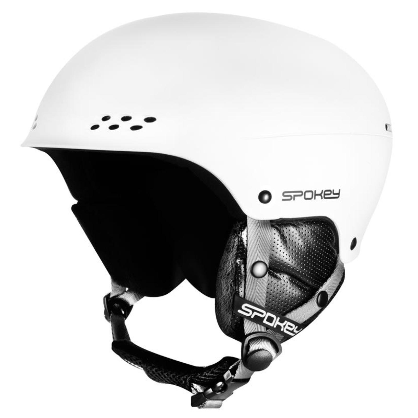 Lyžiarska prilba SPOKEY Robson biela - veľ. S-M