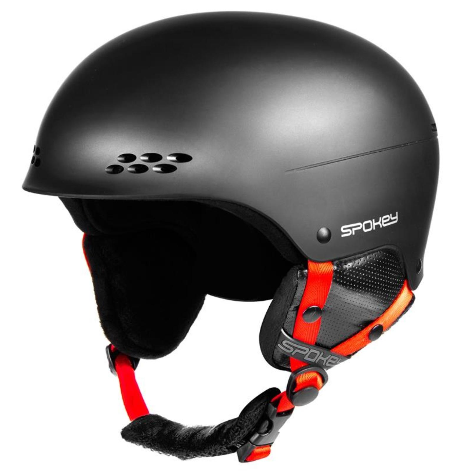 Lyžiarska prilba SPOKEY Robson čierna - veľ. L-XL