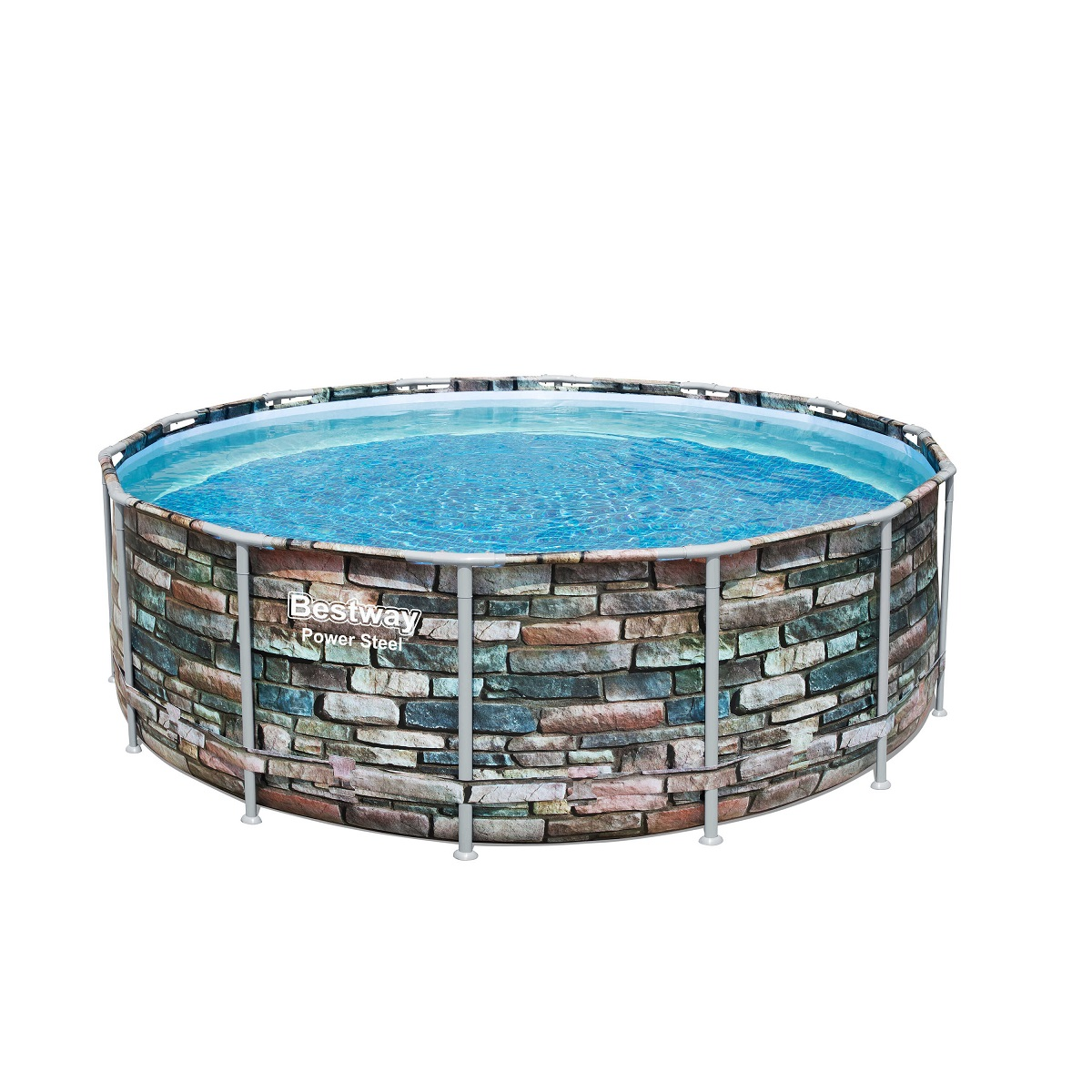 Bazén BESTWAY Power Steel 427 x 122 cm set s filtráciou