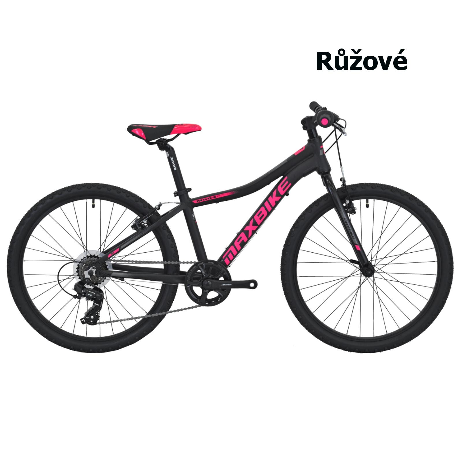 "Detský bicykel MAXBIKE Denali 24"" - ružový"