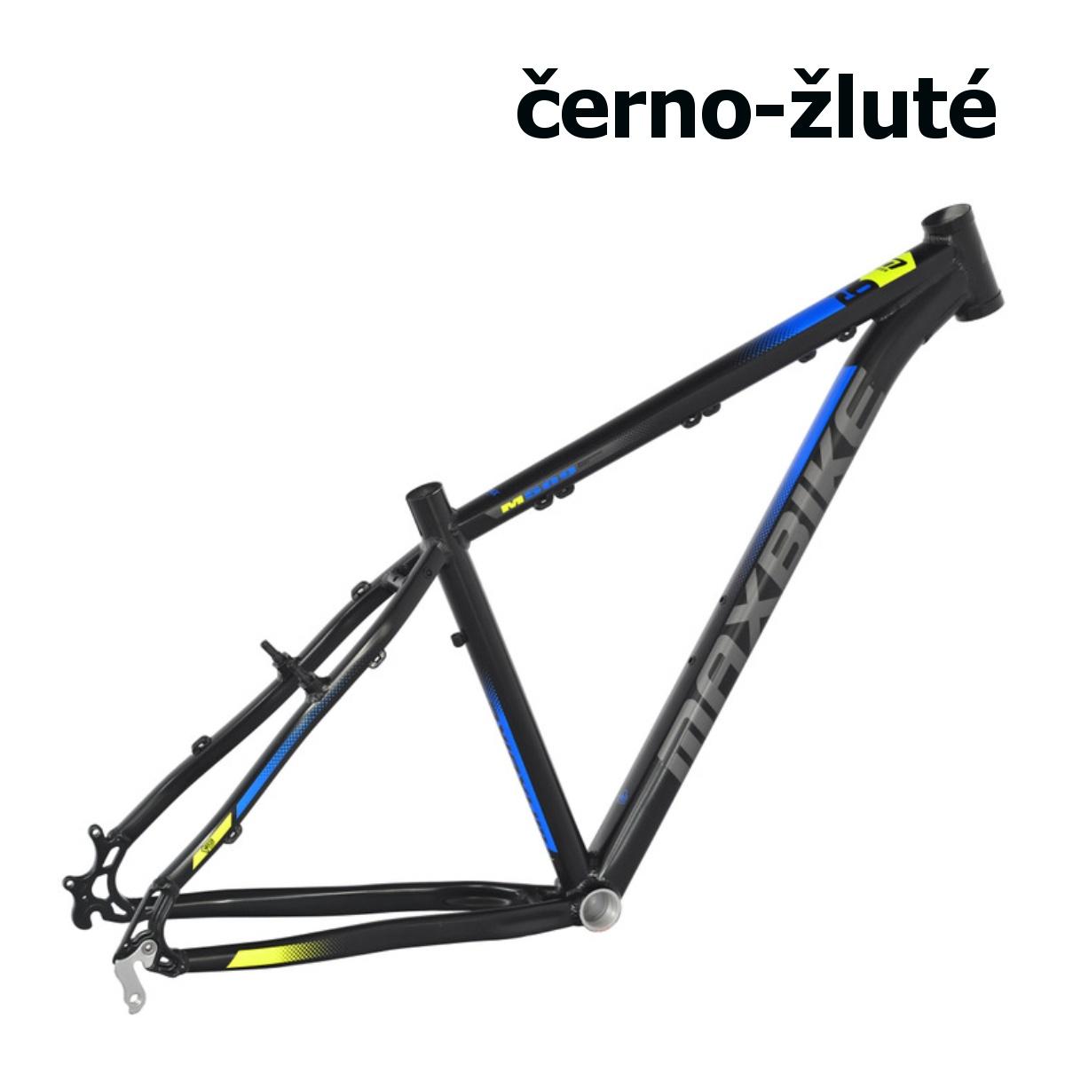 """Horský bicykel MAXBIKE Apo 29 čierno-žltý - veľ. rámu 21"""""""