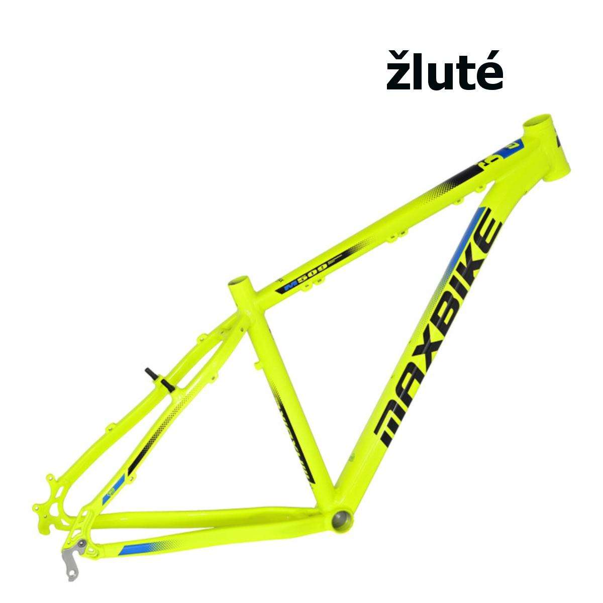 """Horský bicykel MAXBIKE Apo 29 žltý - veľ. rámu 19"""""""