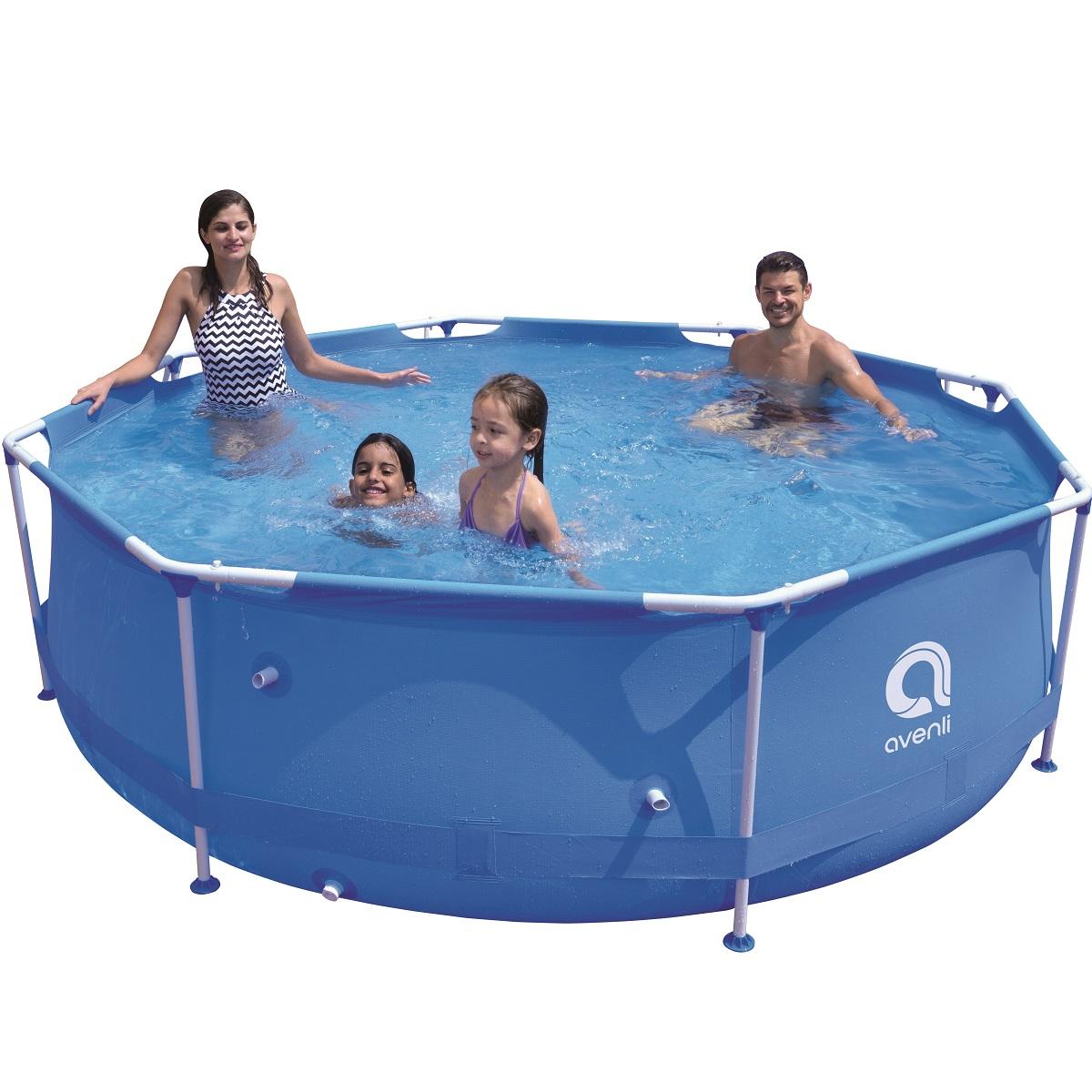 Bazén Sirocco Blue 300 x 76 cm set s kartušovou filtráciou
