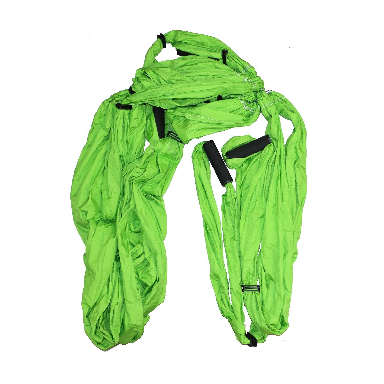 Aerial Yoga - závěs na jógu MASTER Hammock - zelený