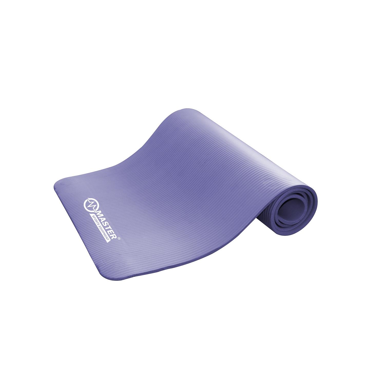 Podložka na cvičenie MASTER Yoga NBR 10 mm - 183 x 61 cm - fialová