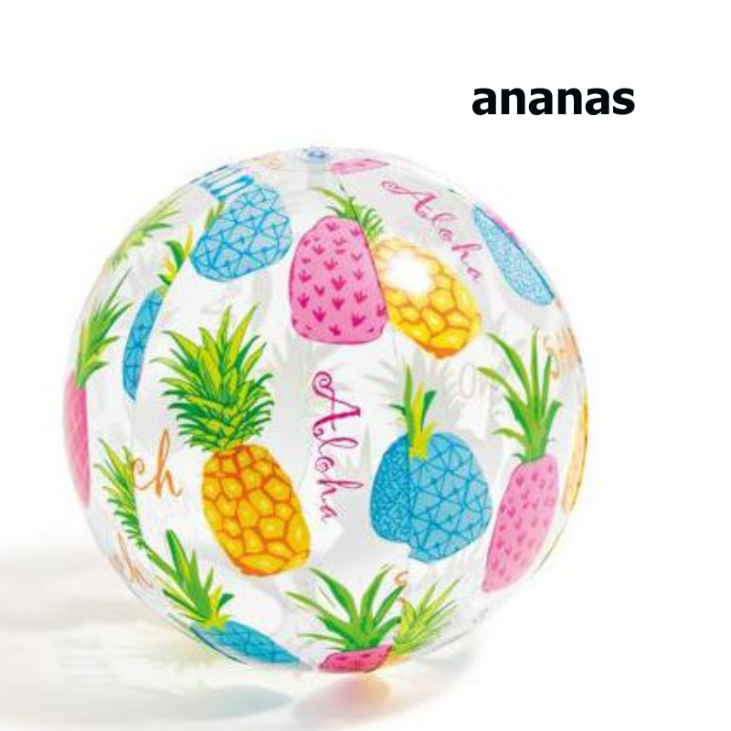Nafukovacia plážová lopta Intex 59040 51 cm Ananas