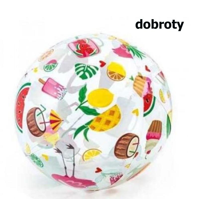 Intex 59040 Nafukovací míč barevný 51cm Ovoce