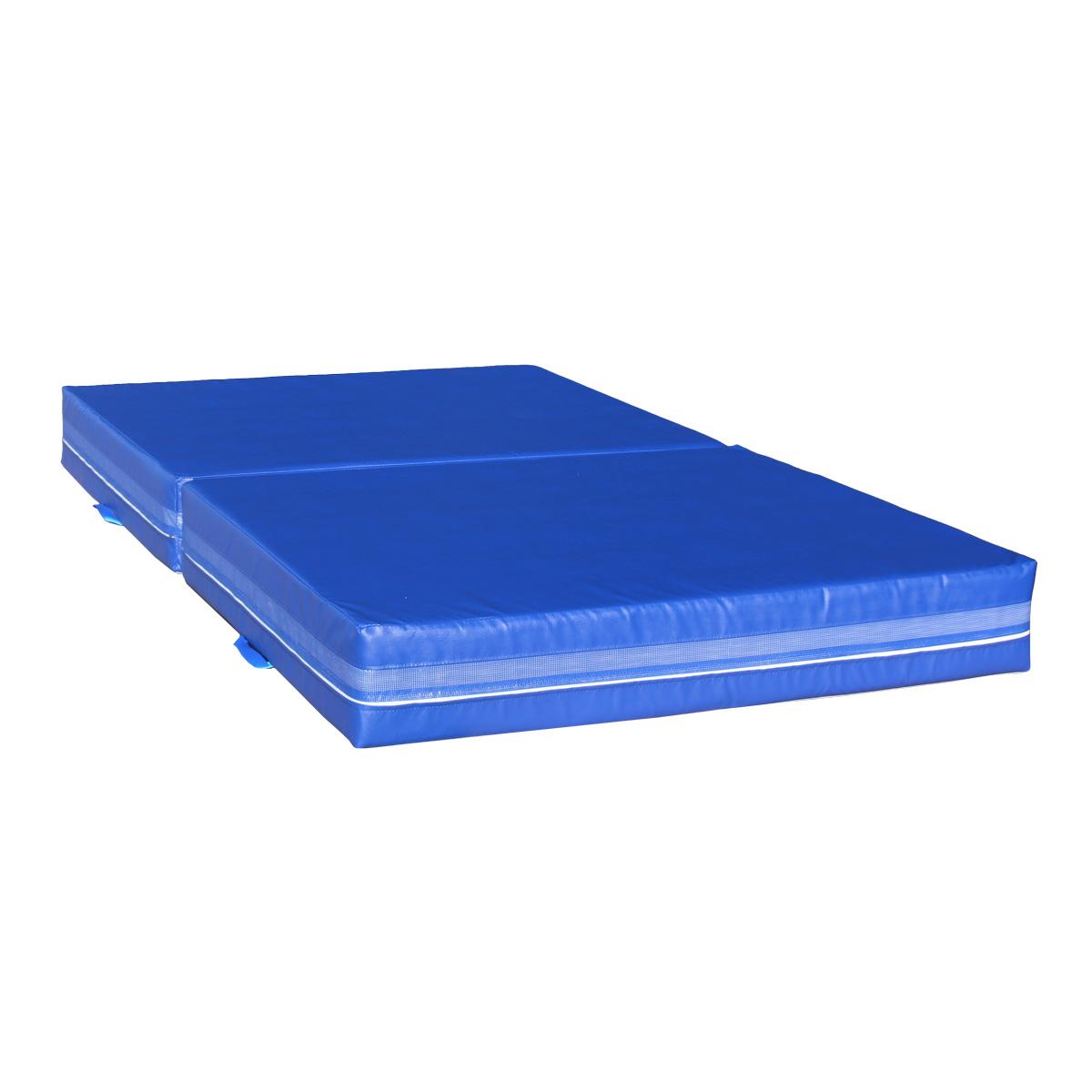 Dopadová skladacia žinenka MASTER T21 - 200 x 120 x 20 cm - modrá