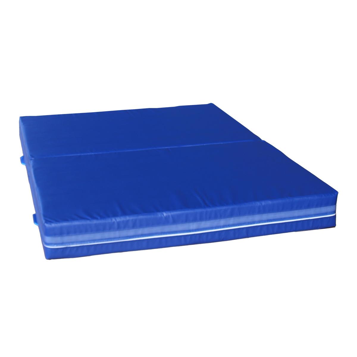 Dopadová skladacia žinenka MASTER T21 - 200 x 150 x 20 cm - modrá