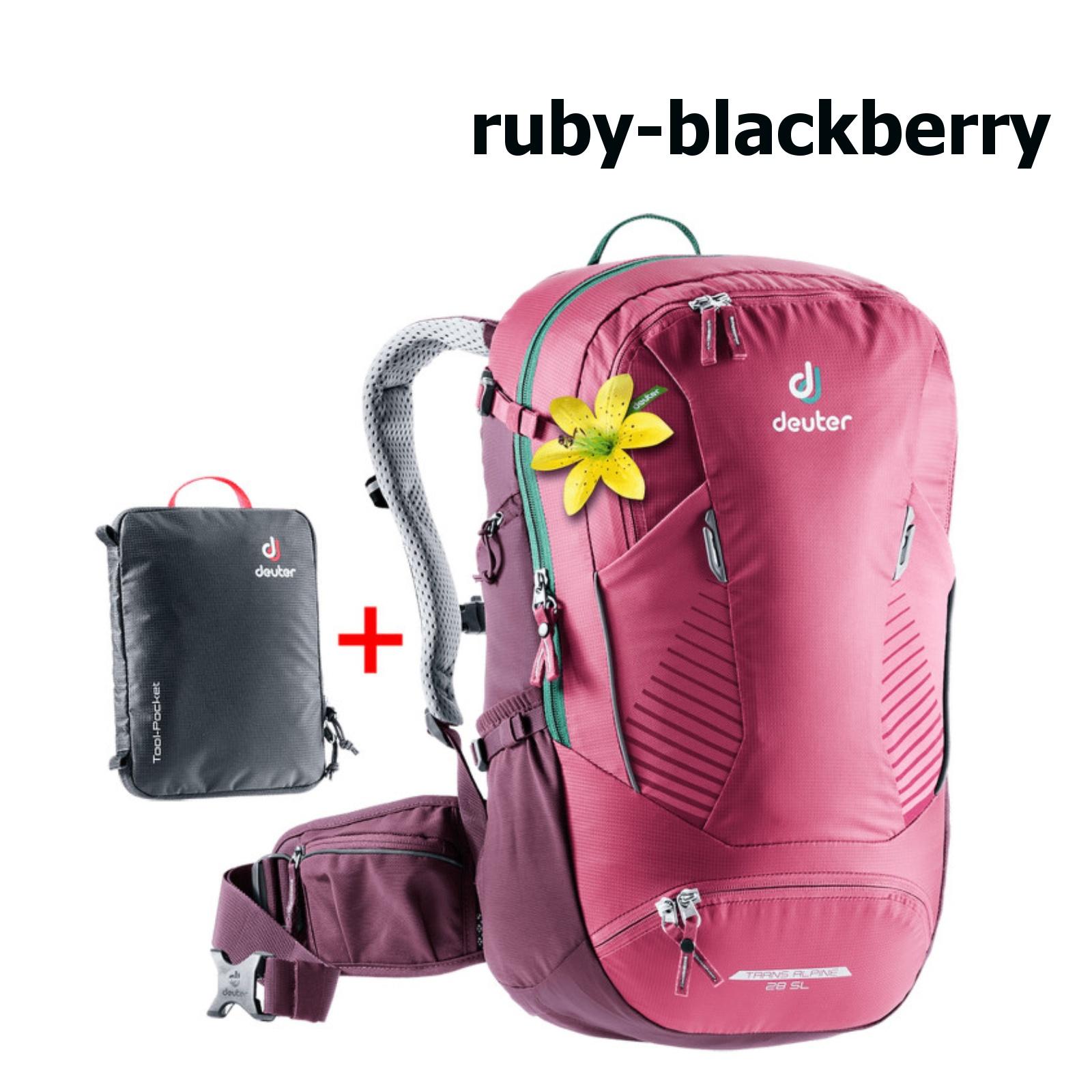 Deuter Trans Alpine 28 SL ruby blackberry