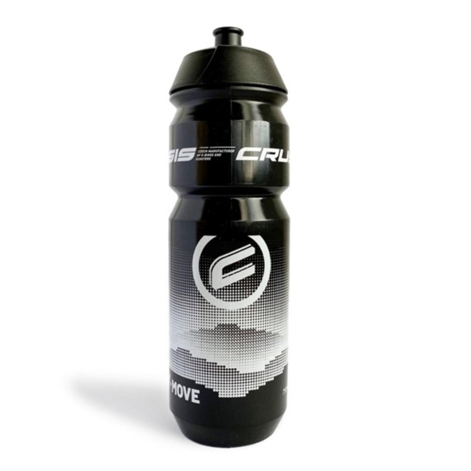 Cyklo fľaša CRUSSIS 0,7 L - čierna