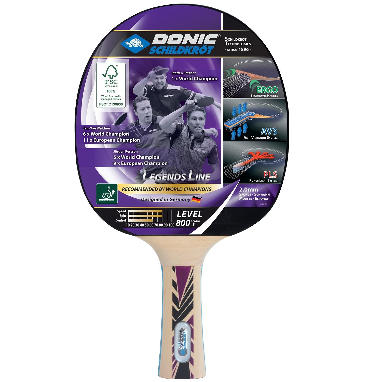 Raketa na stolný tenis DONIC Legends 800 FSC
